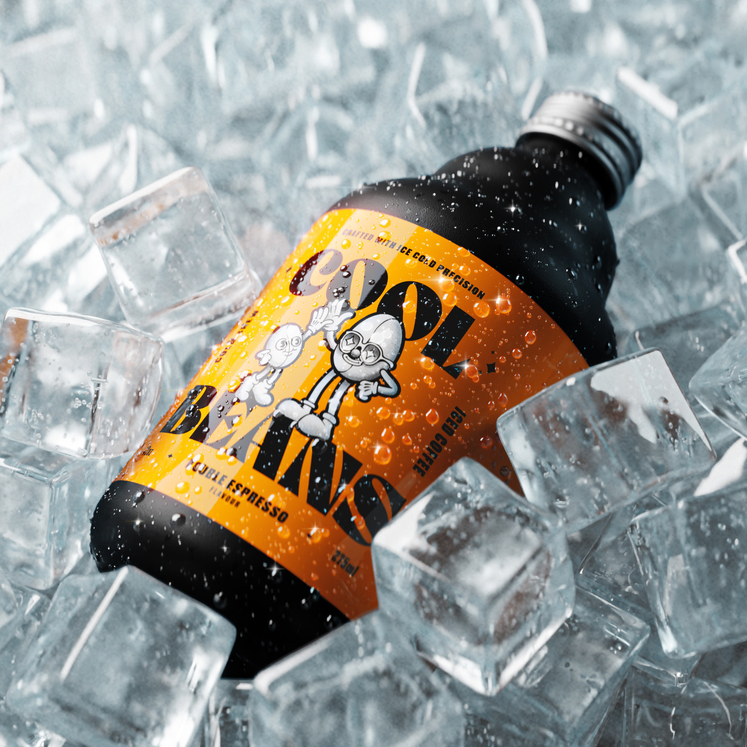 Studio Unbound Create Fresh Concept for Cool Beans, a New Iced Coffee Brand