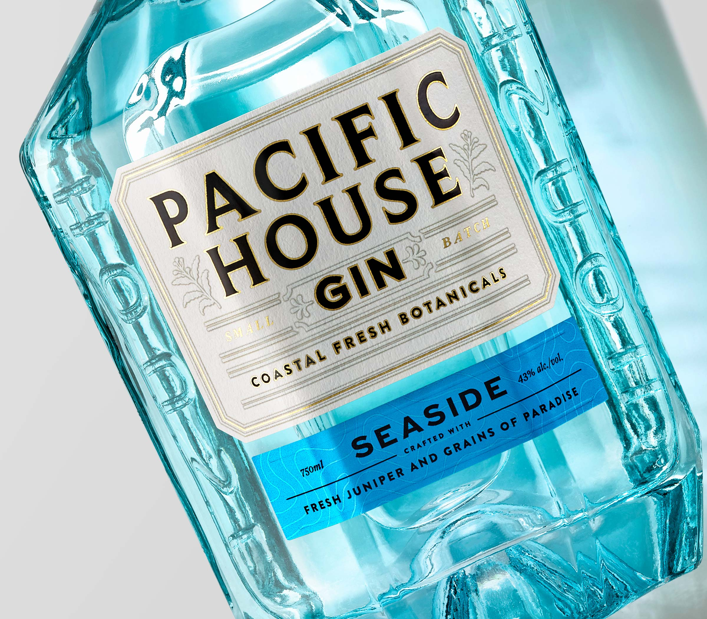 Pacific House Taps Chad Michael Studio to Design Their Sea-Inspired Gin
