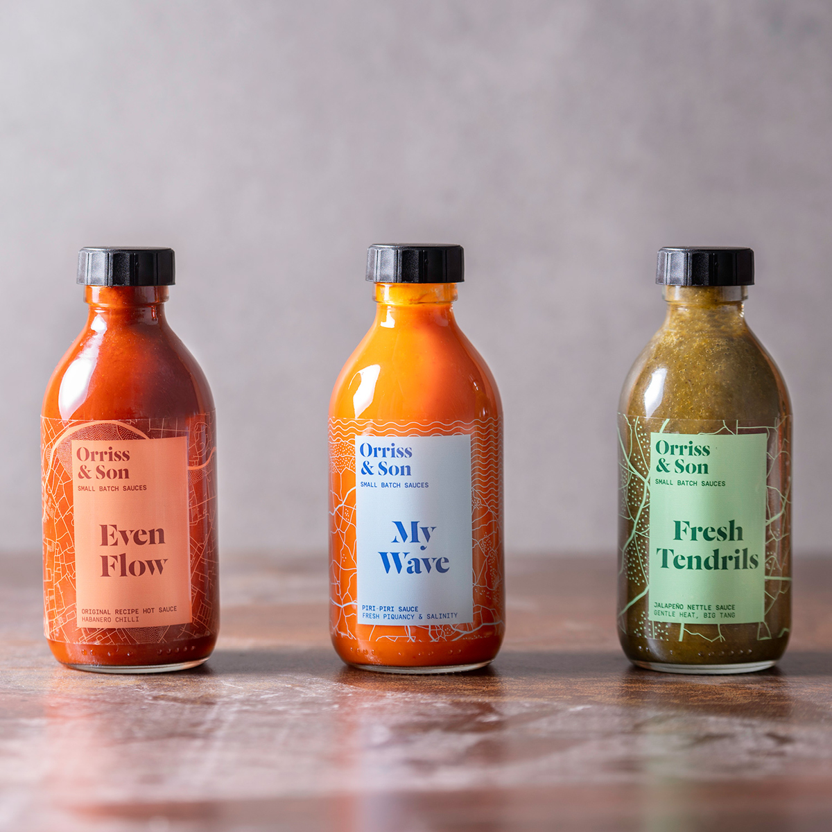 Collaborate Create Complete Branding for Orriss & Son