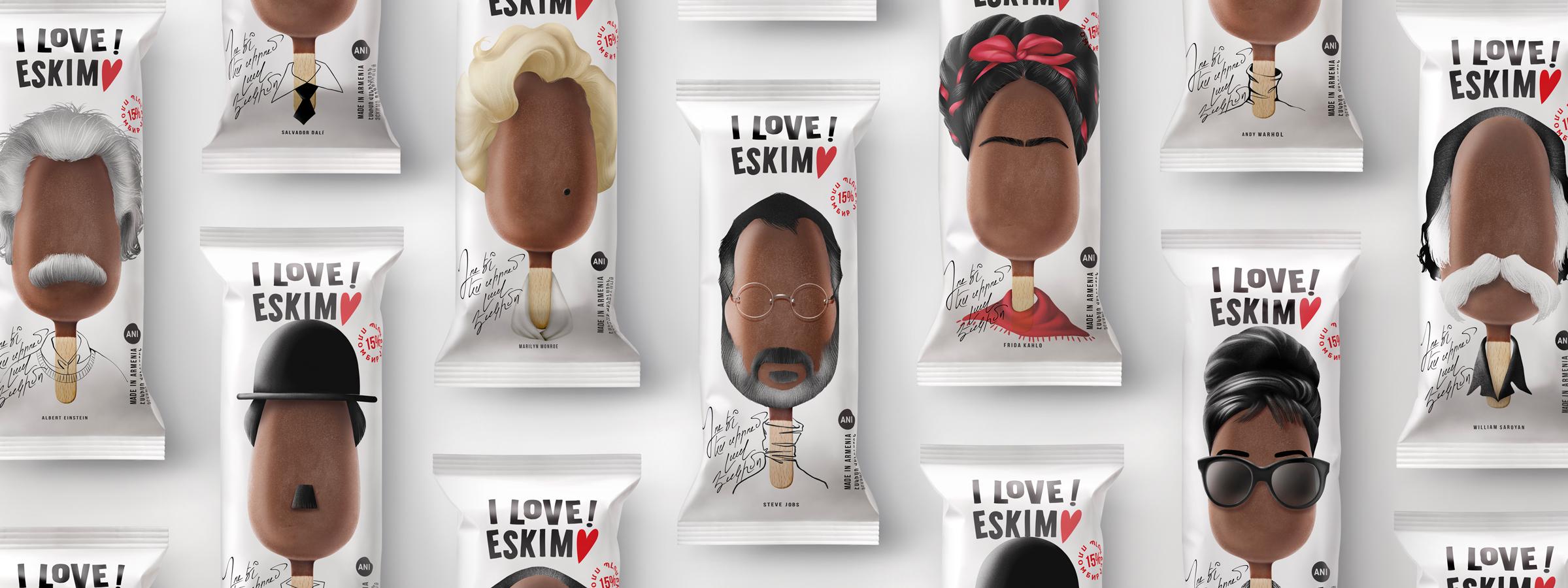 Backbone Branding Creates New Packaging for a Range of Butter-Based Ice Creams