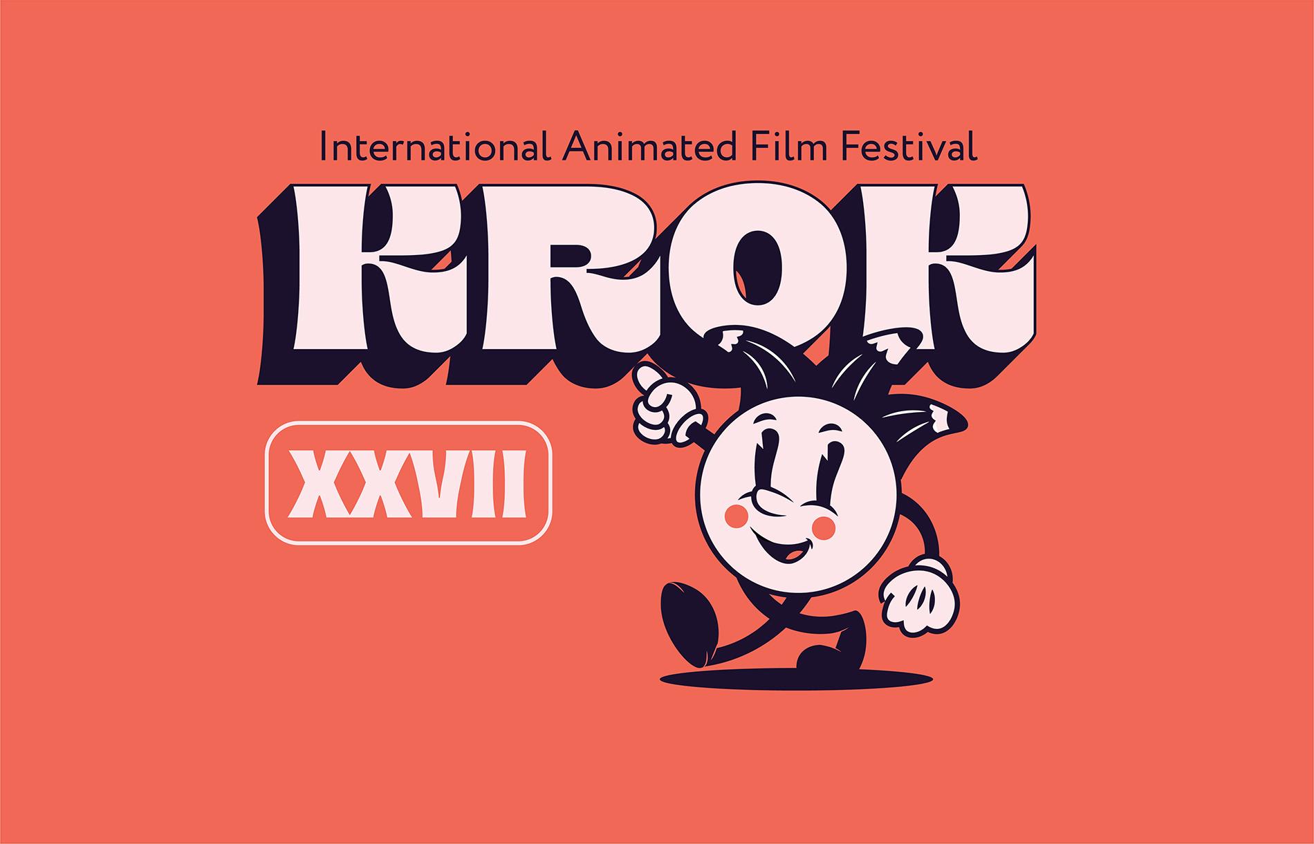 KROK Animated Film Festival Identity Designed by Karina Li