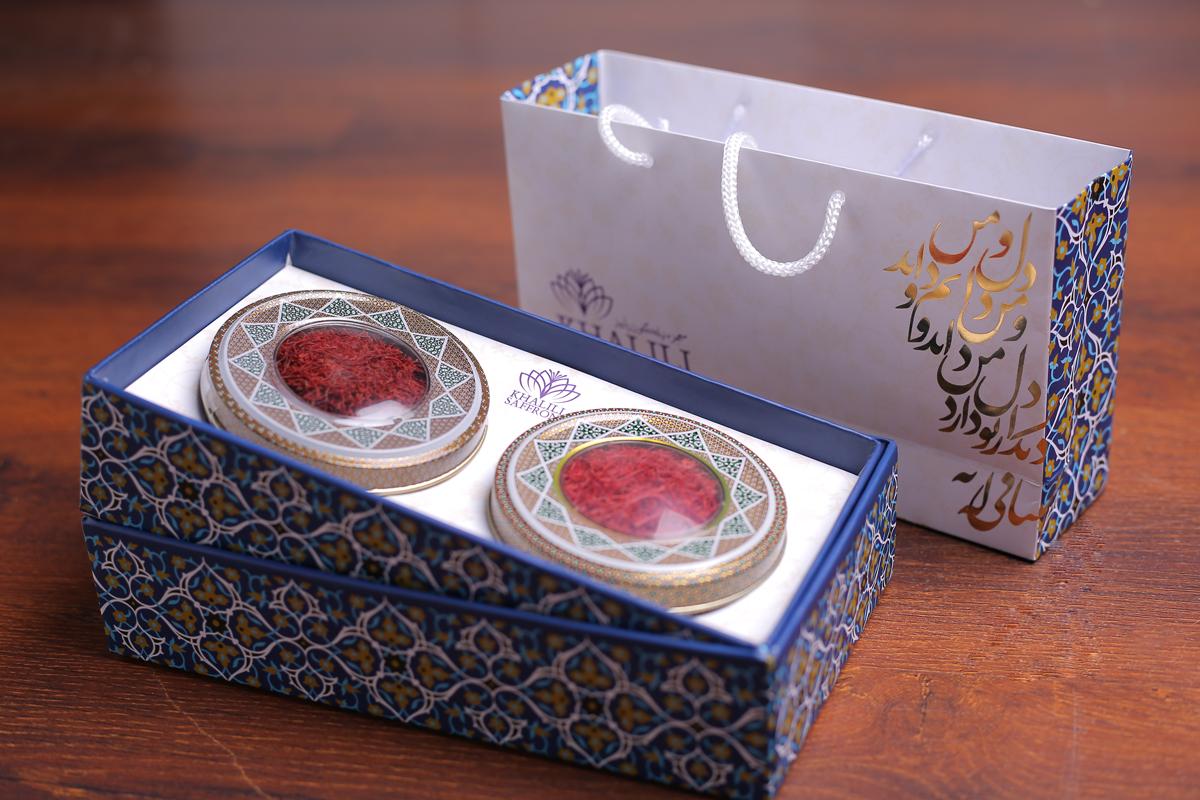 Khalili Saffron Packaging Design by ZarifGraphic