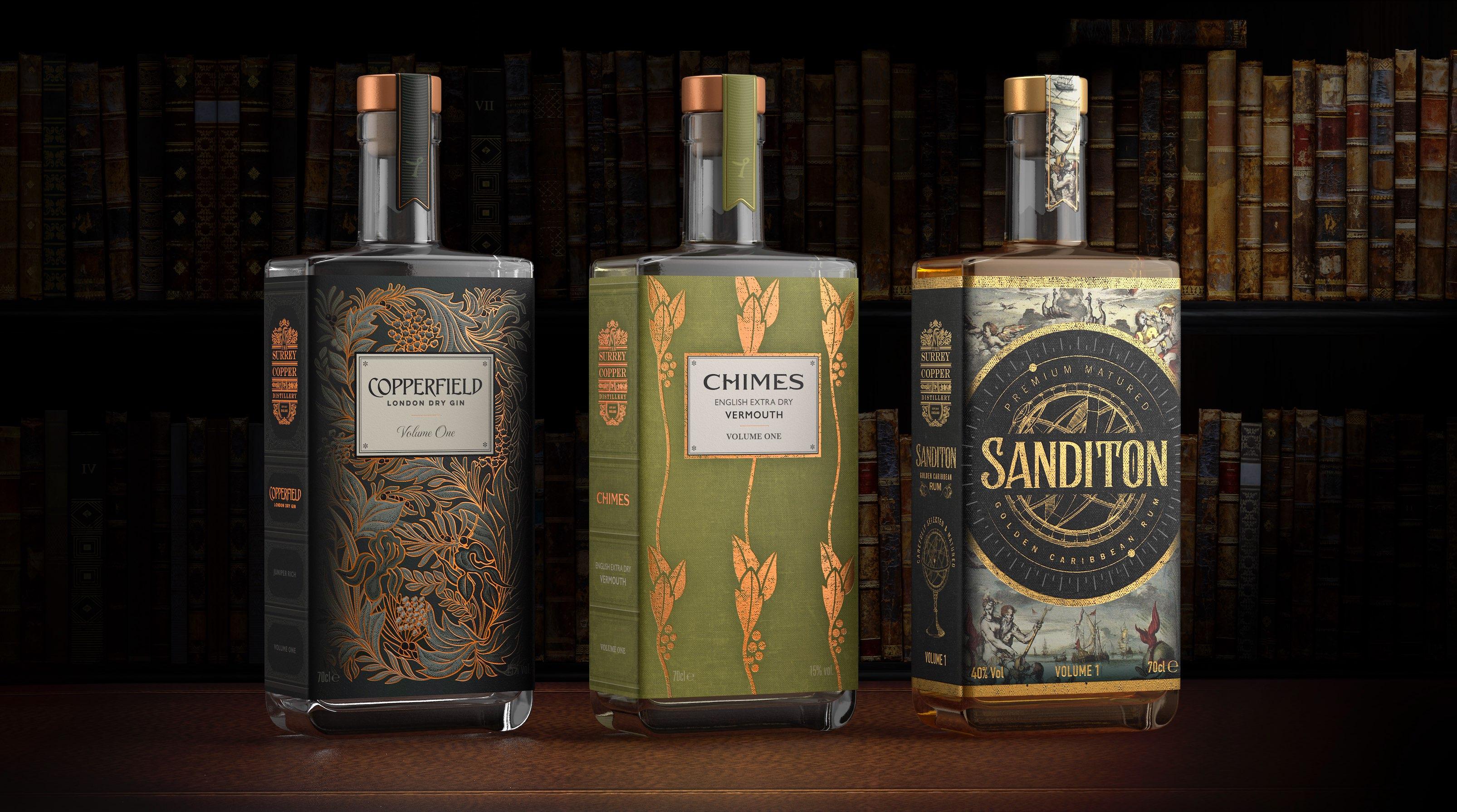 The Surrey Copper Distillery Sanditon Rum Volume 1 by Nude Brand Creation