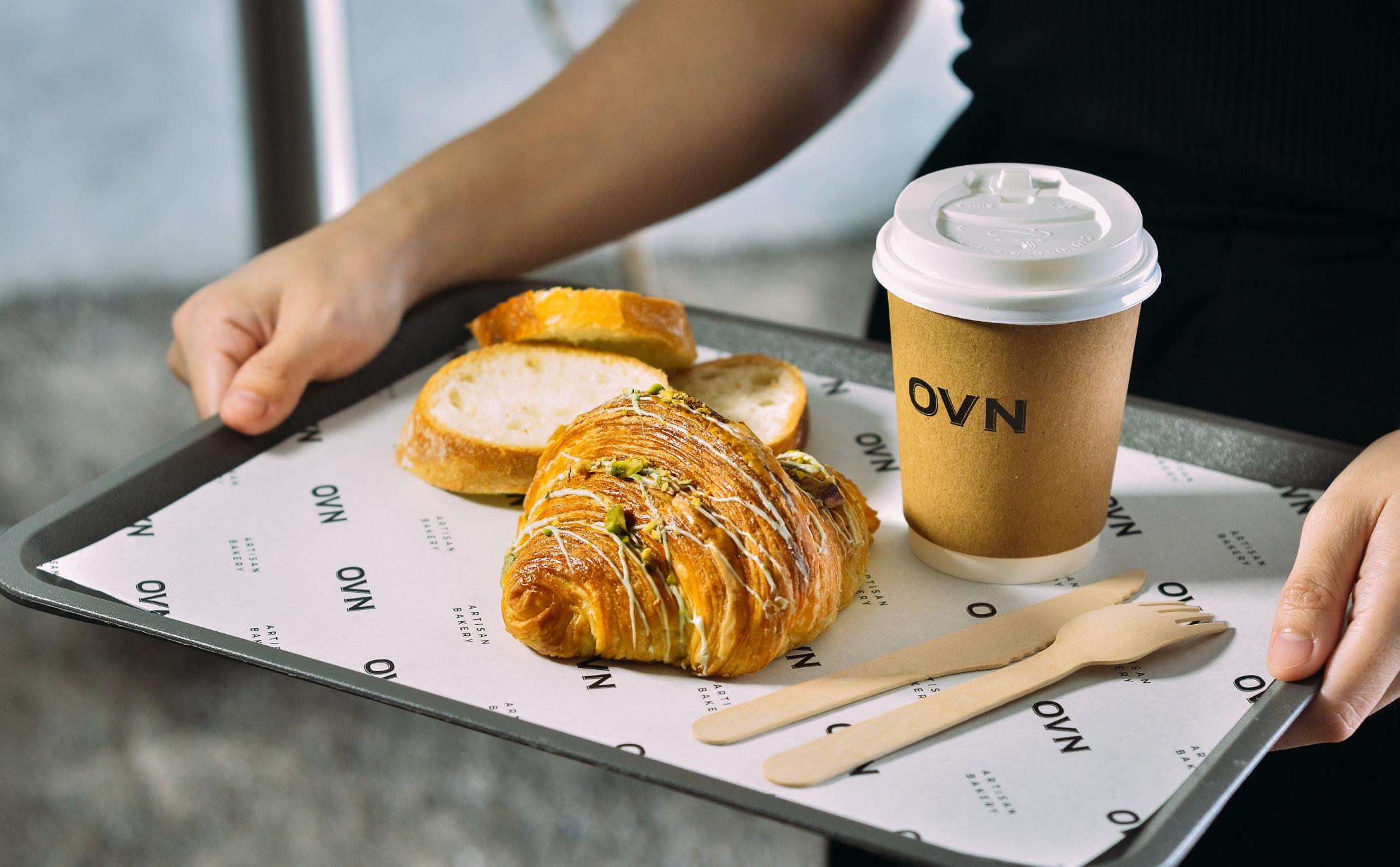 Brand Identity Design for Ovn Artisan Bakery by Pitustudio