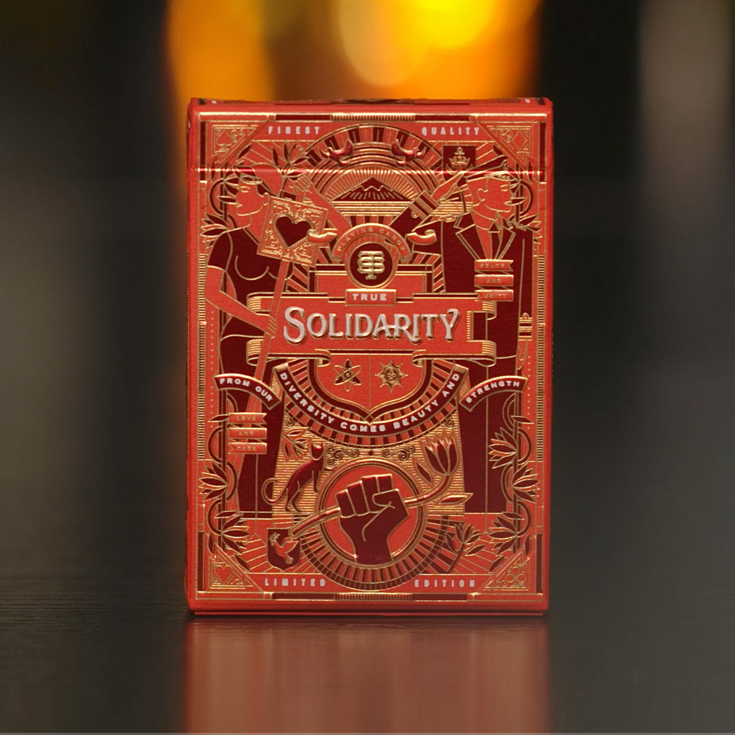 Solidarity Playing Cards Designed by Intertype Studio