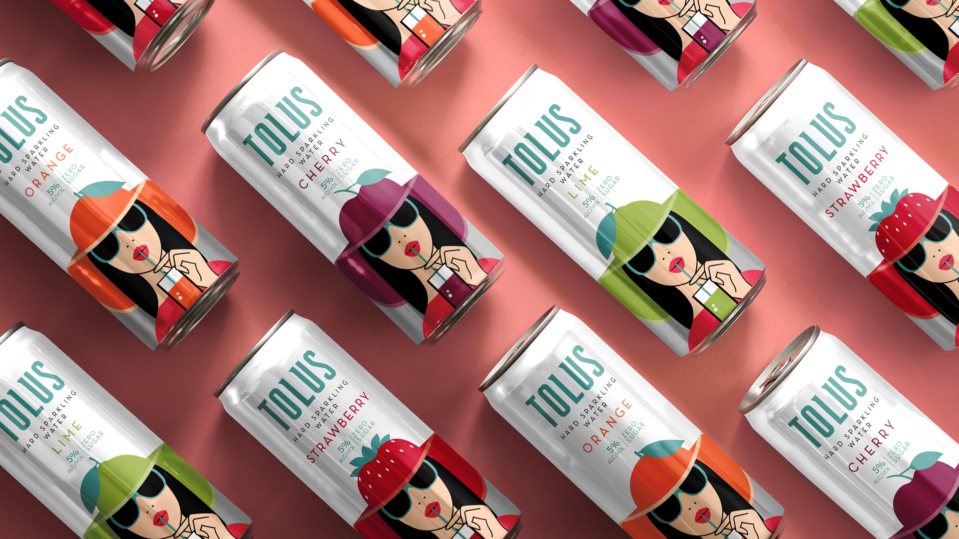 Nitid Studio Breaks the Category Codes with Tolus Hard Sparking Waters Range
