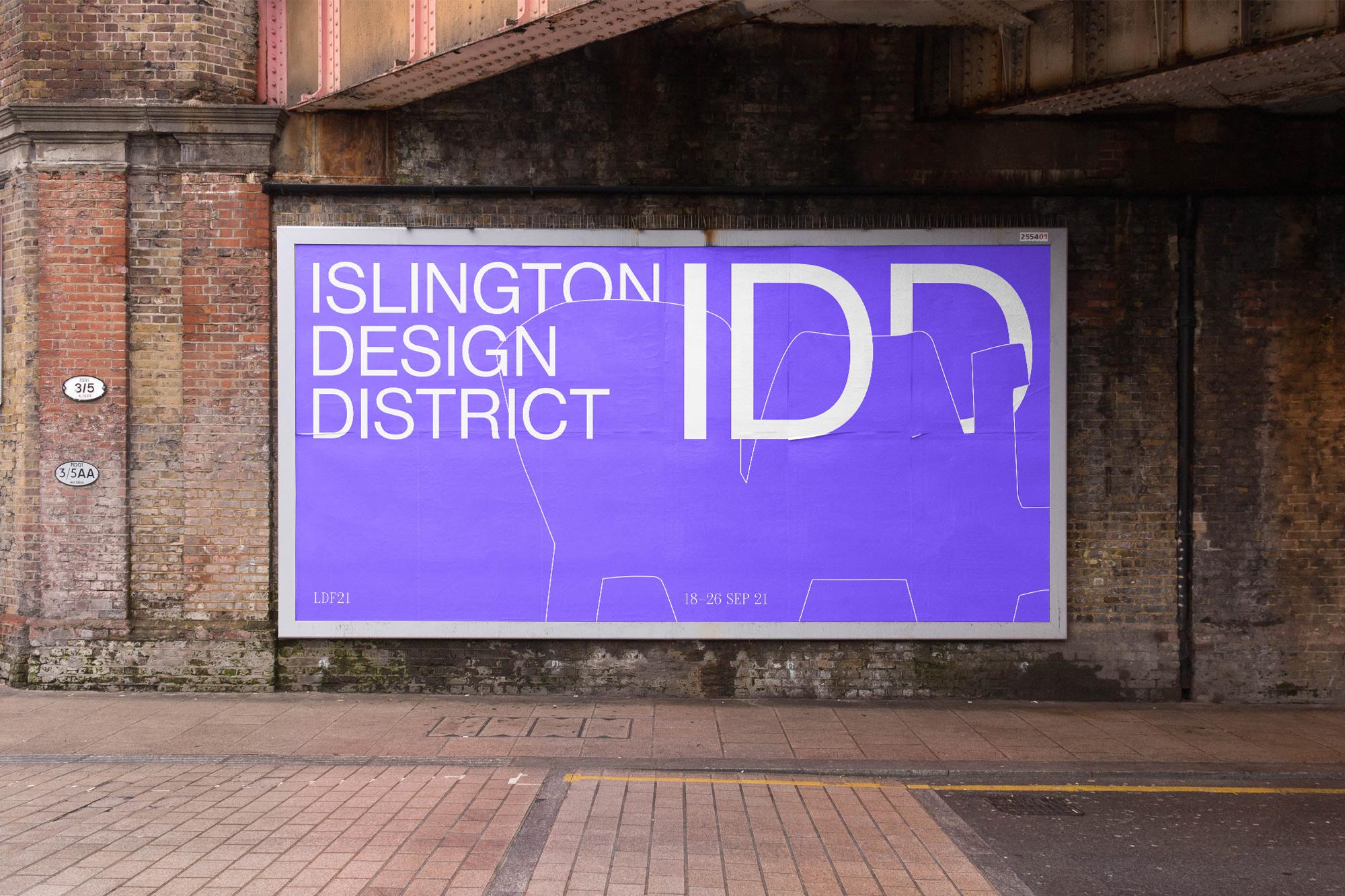 Campbell Hay × Islington Design District for London Design Festival 2021