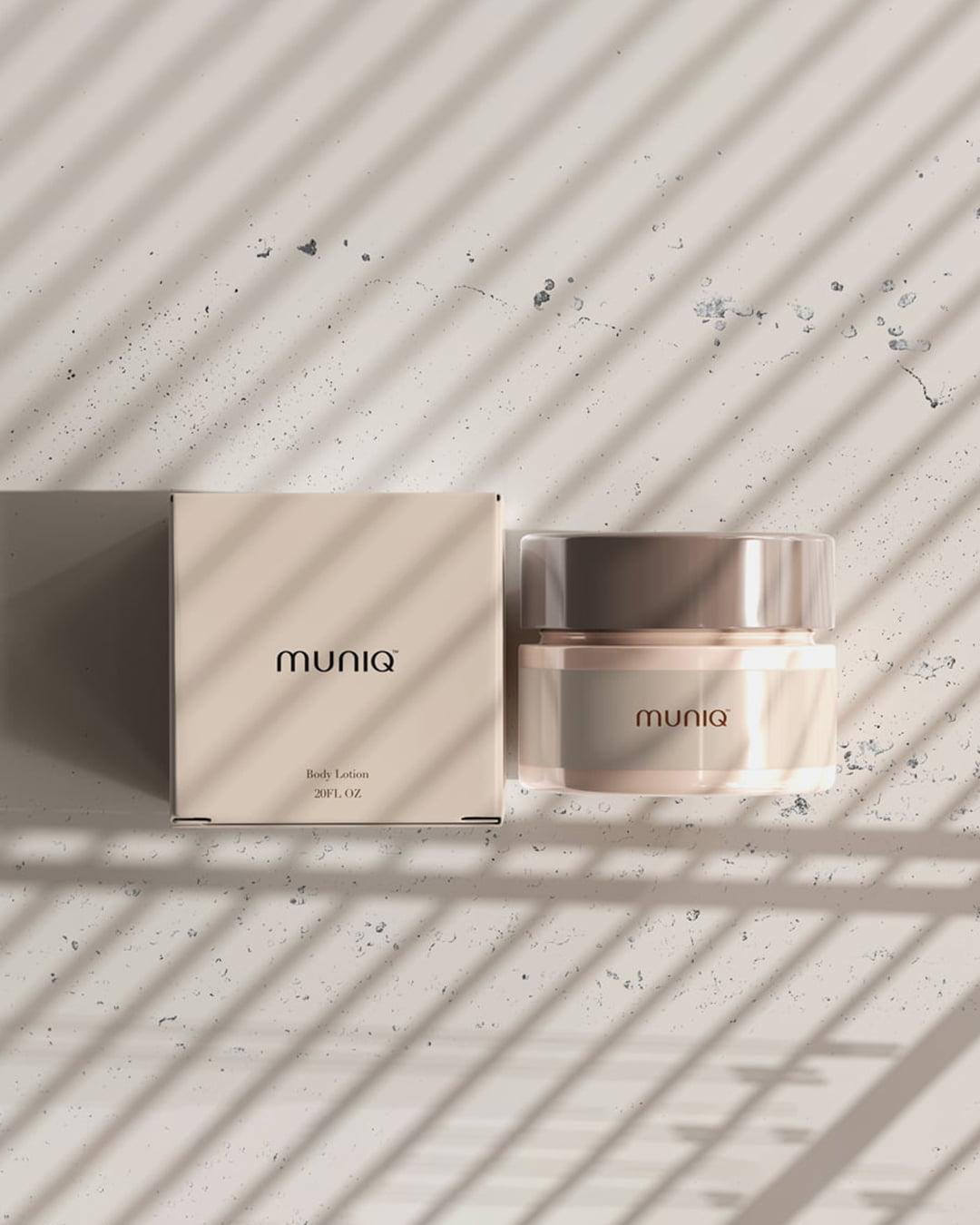 Brand Identity System for Muniq by Mercury Agency