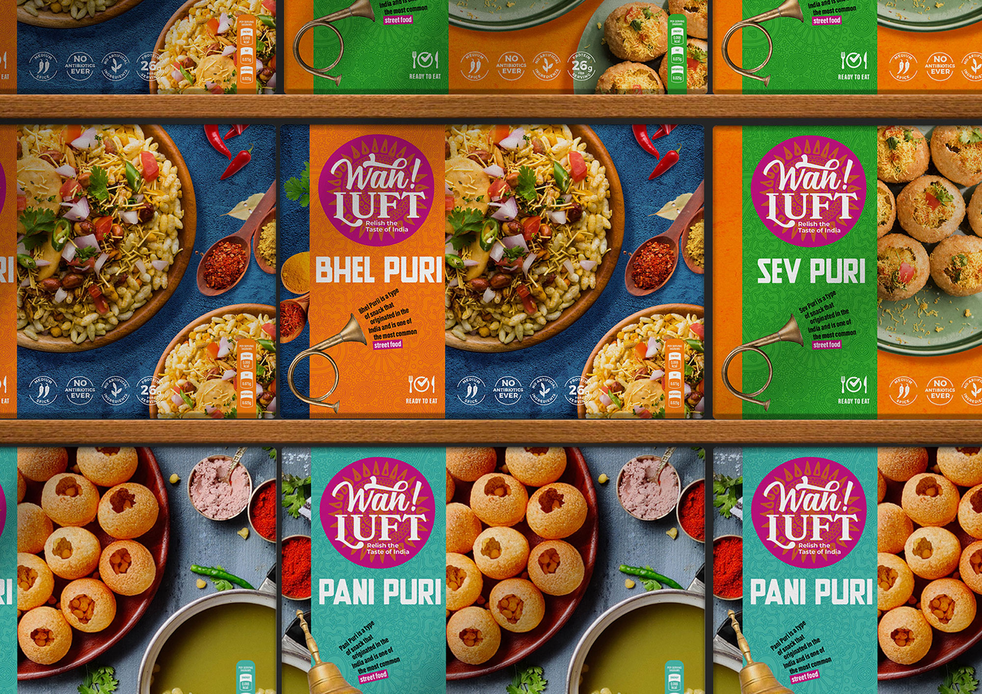 A Non Published Concept Branding Strategy and Design for Wahluft by Brand Visual Language