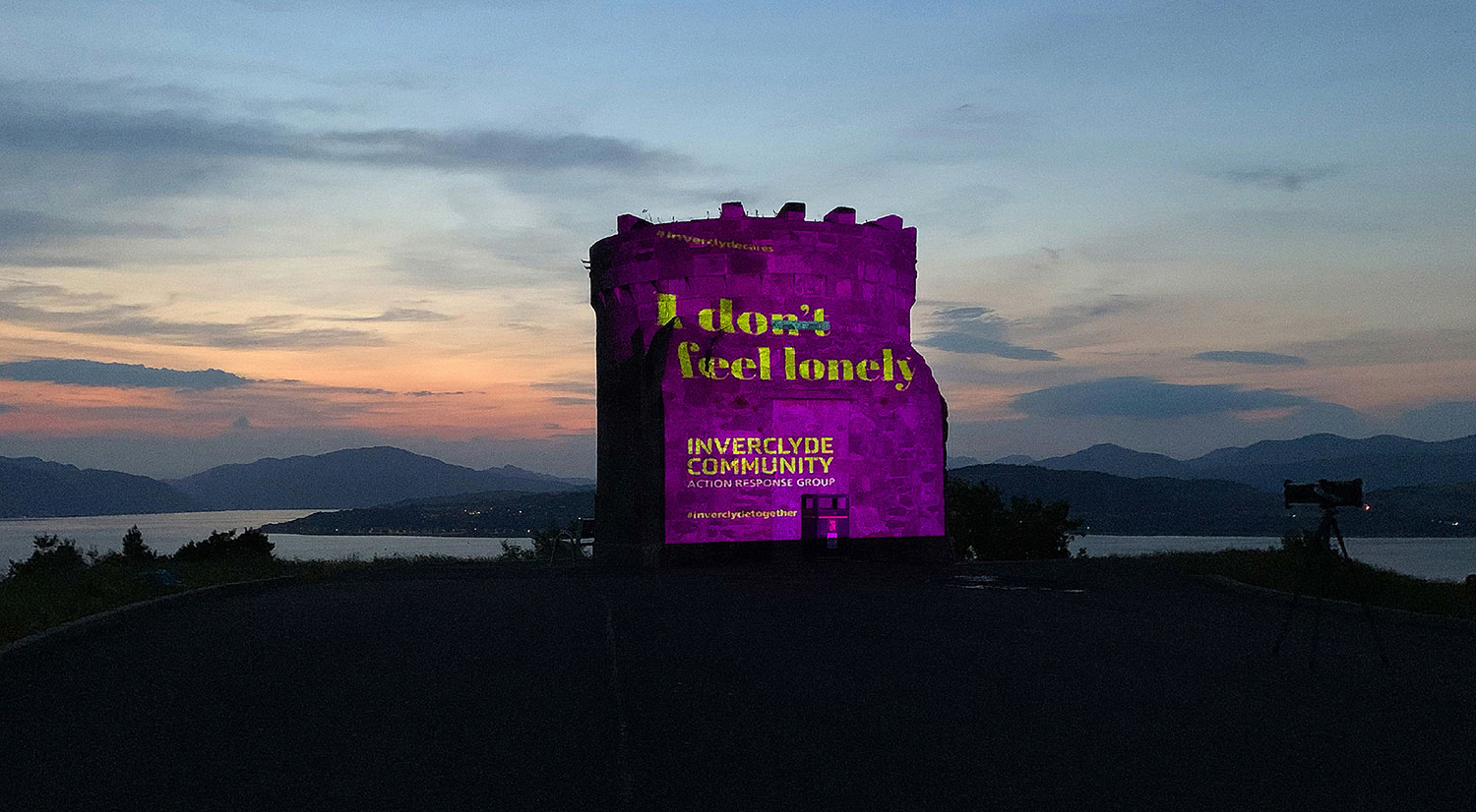 Hutton Creative Design Create Campaign for Inverclyde Community Action Response Group