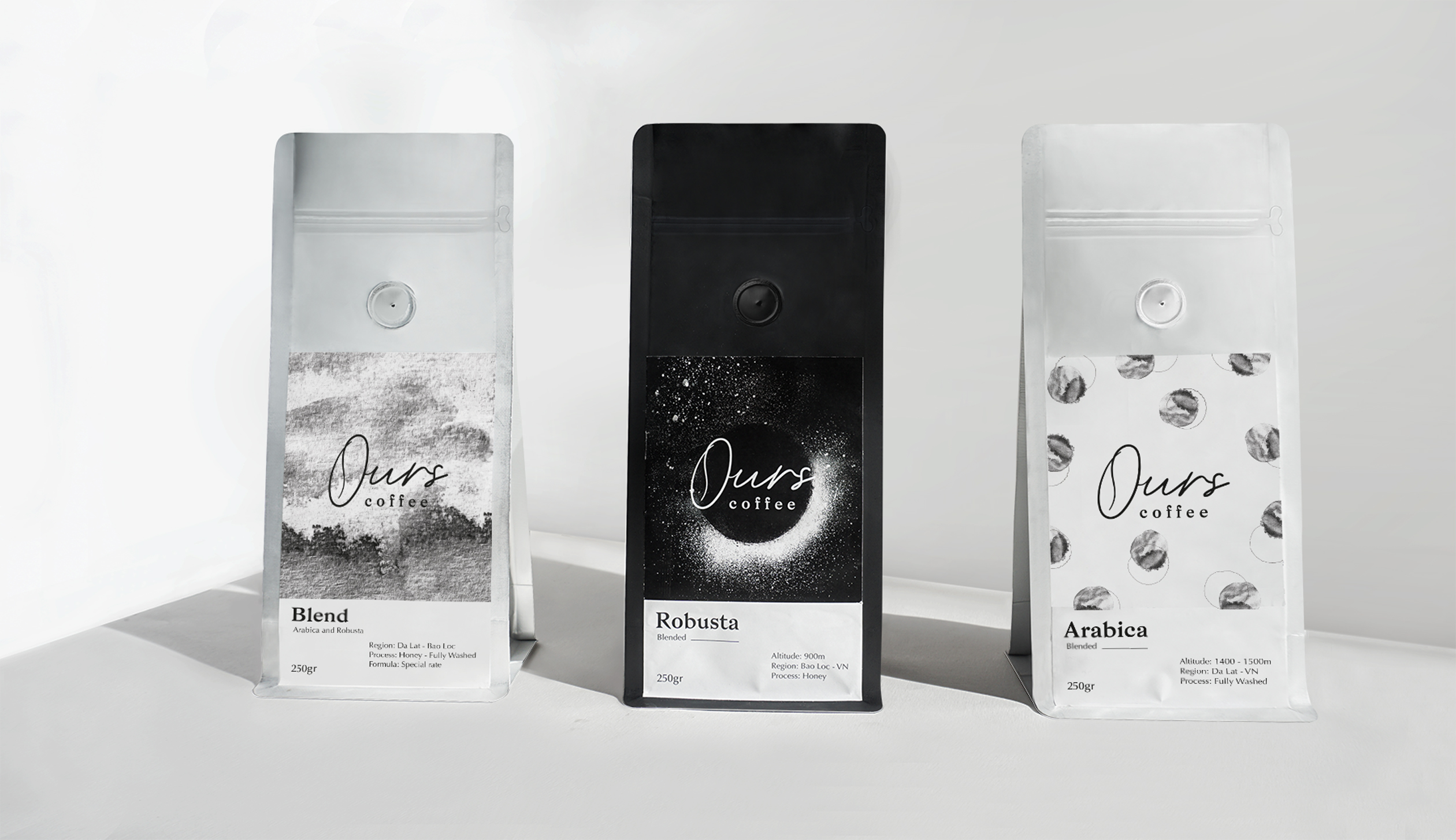 Ours Coffee Visual Identity Design by Gemini Can
