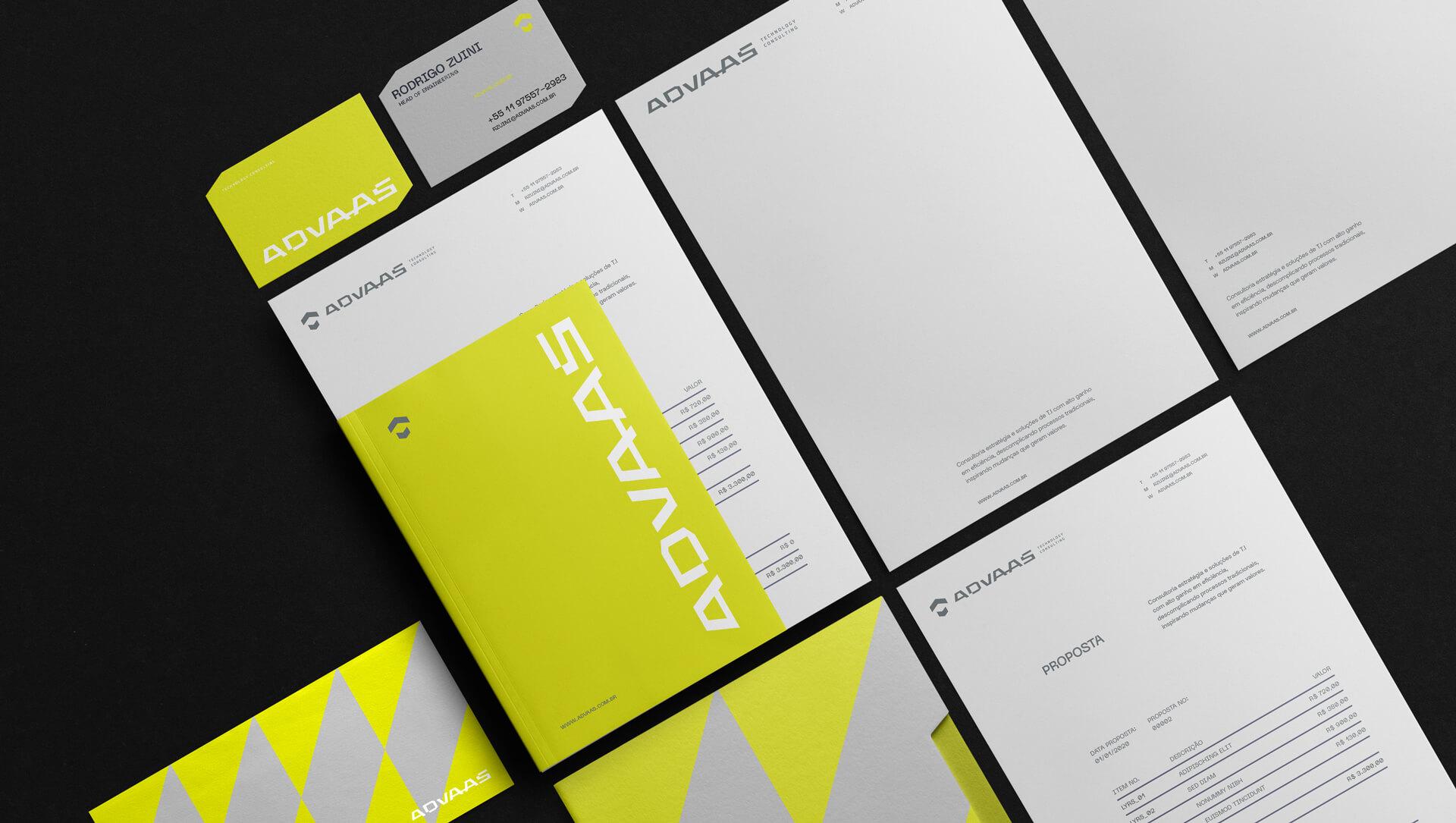 Brand Identity for Advass Technology Consulting by Estúdio Kuumba