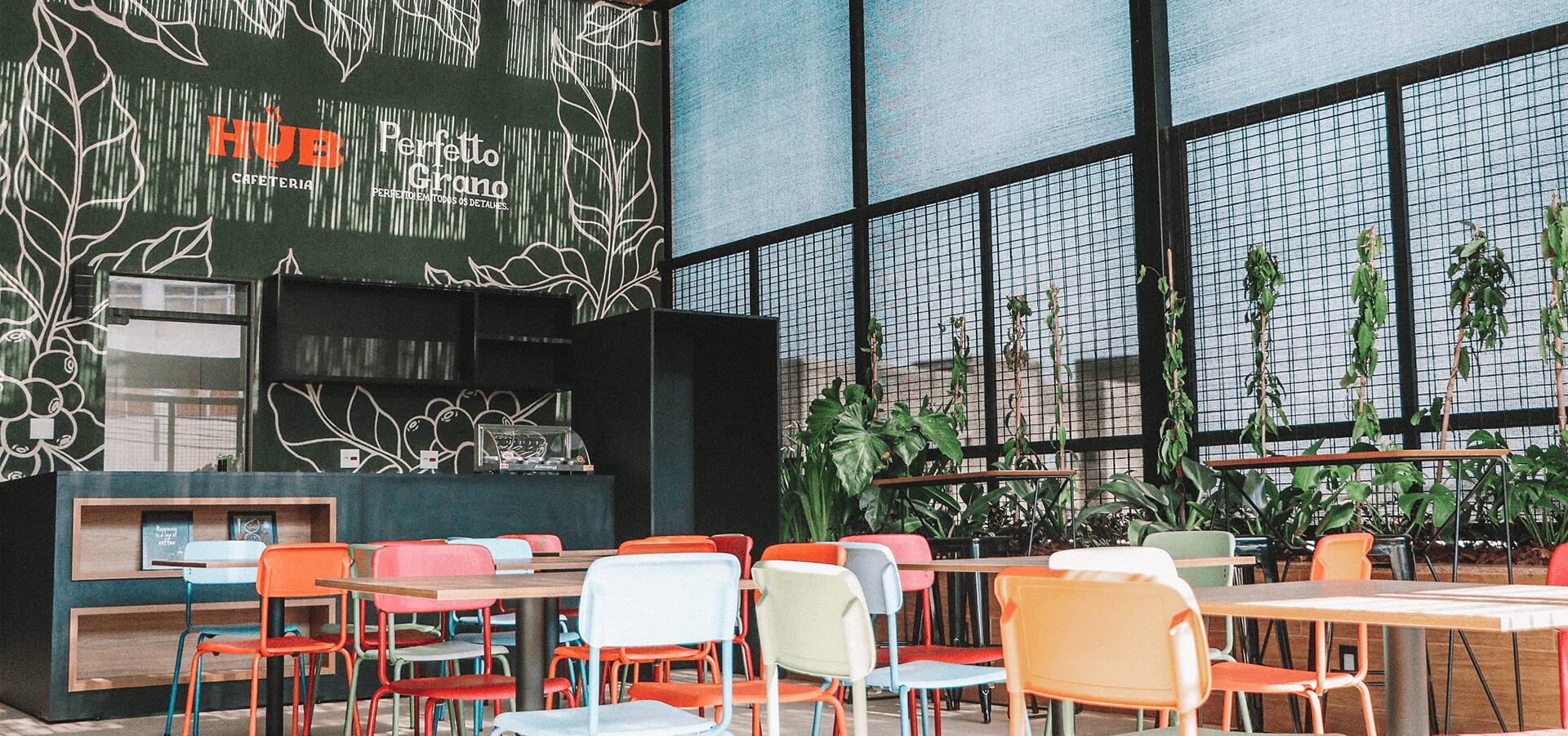 Estúdio Kuumba Create Hub Cafeteria Visual Identity