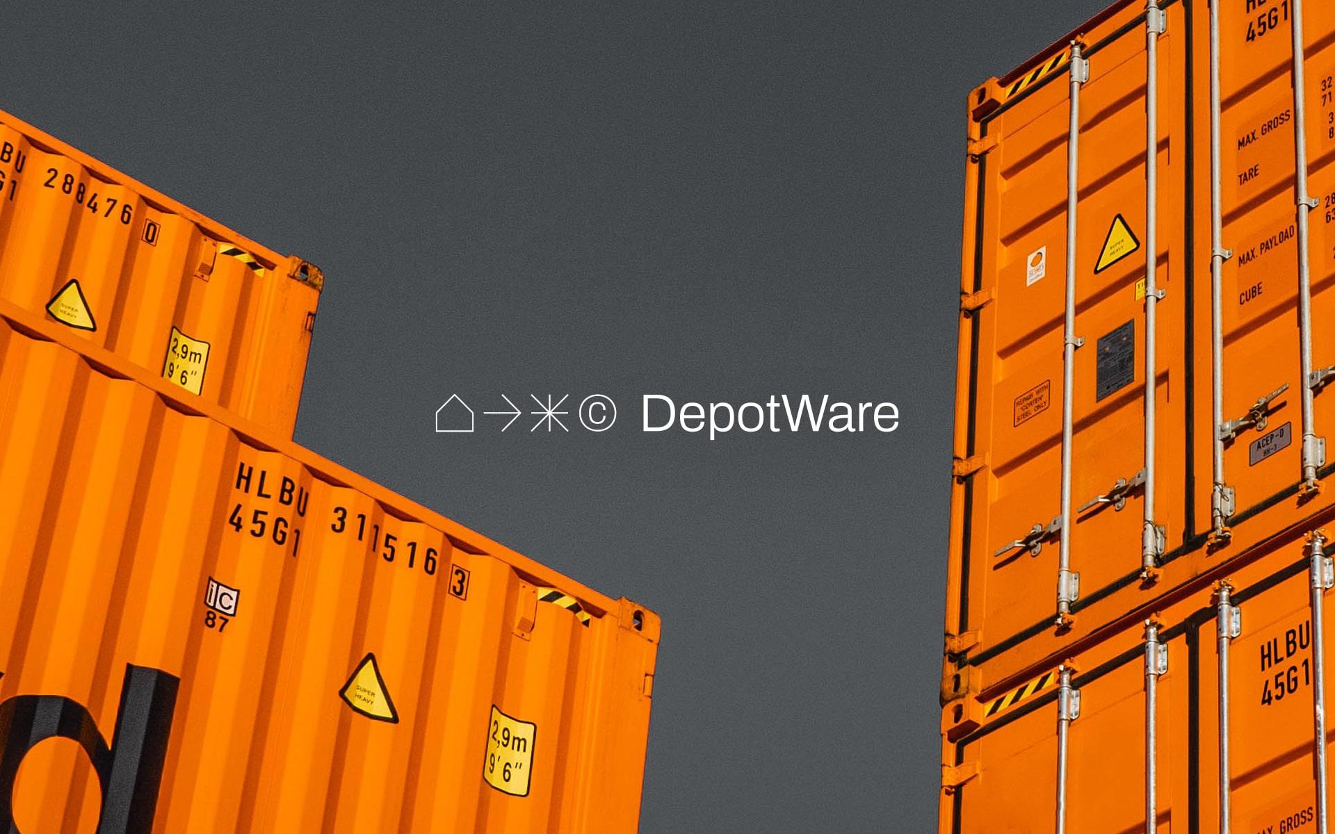 Raquel Fernandes Creates DepotWare Brand Design