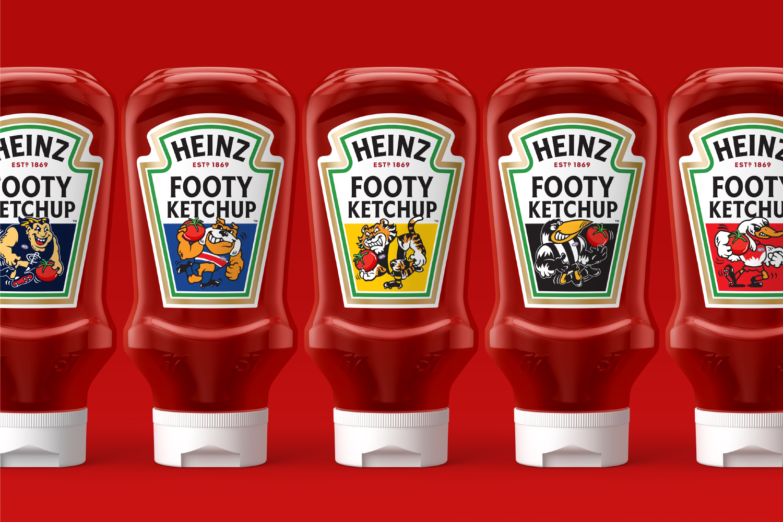 Unified Brands Help Heinz Footy Ketchup Partnership with Australian Football League