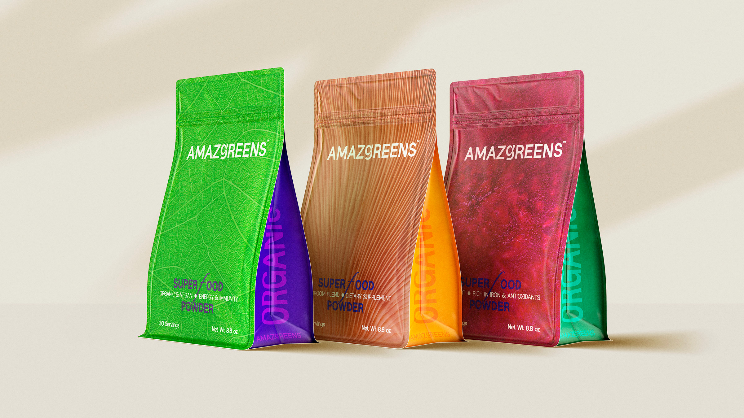 C.Carbon Creates the Packaging Design for Superfoods Brand