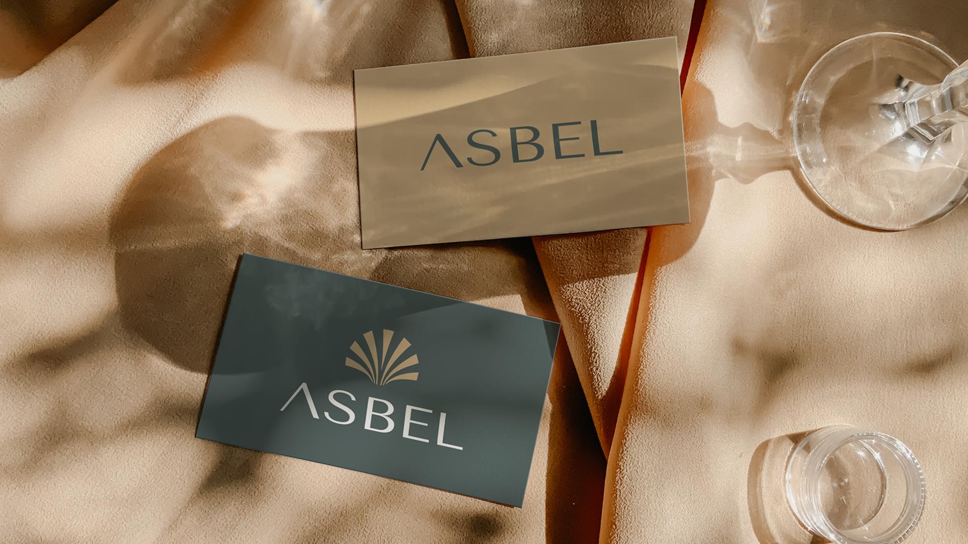 Asbel Brand identity Design by Aya Magdy