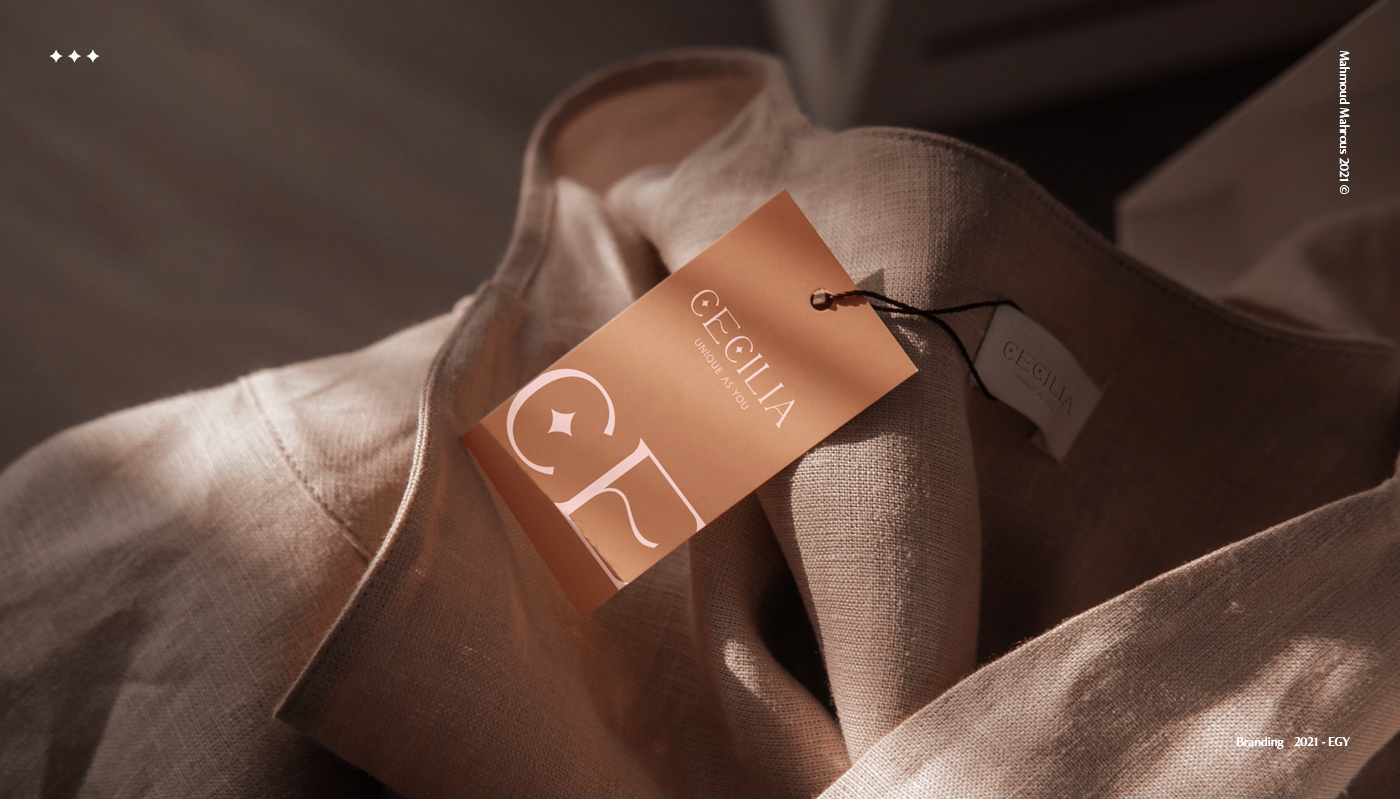 Cecelia High-End Women's Fashion Brand Designed by Trust Advertising Agency