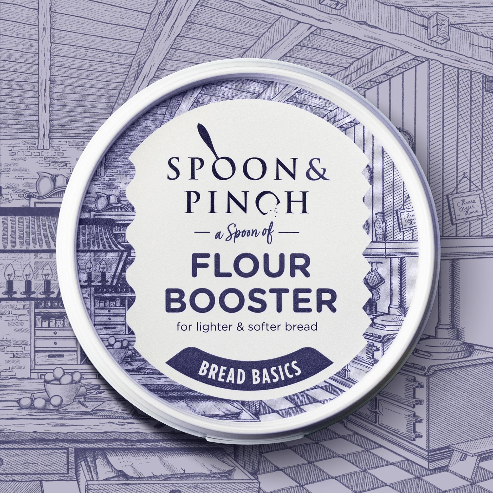Spoon & Pinch Packaging Design Created by Van Heertum Design