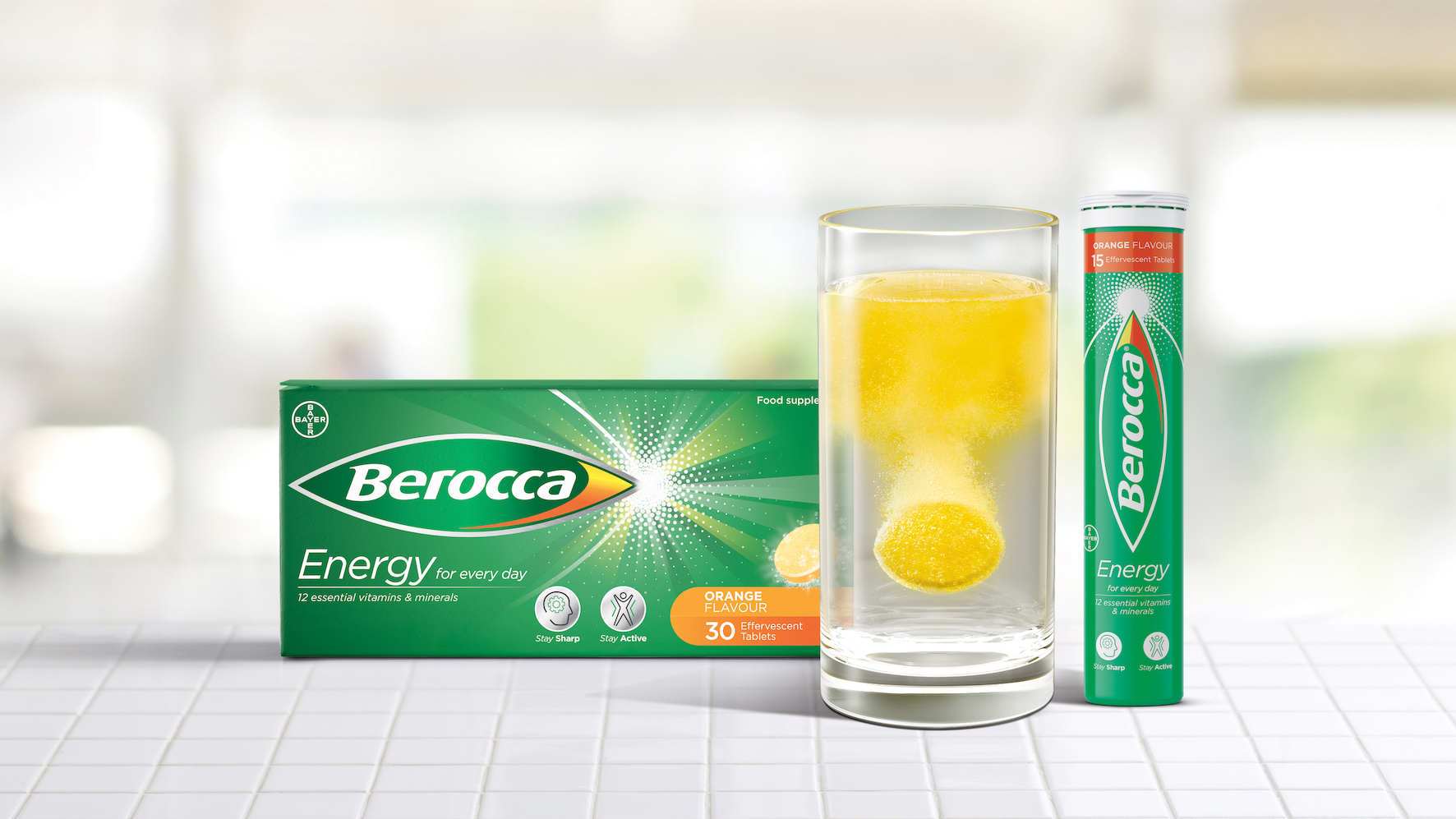 Free The Birds Refreshes Berocca's Identity to Spark Positivity