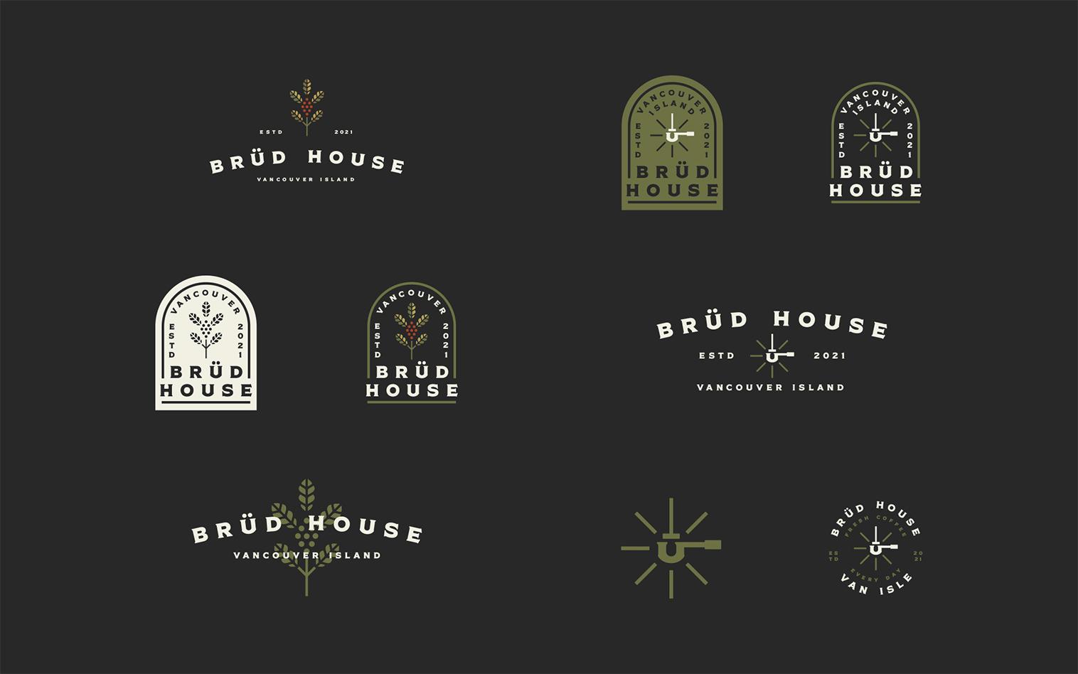 Branding for Brud House Community-Based Hub