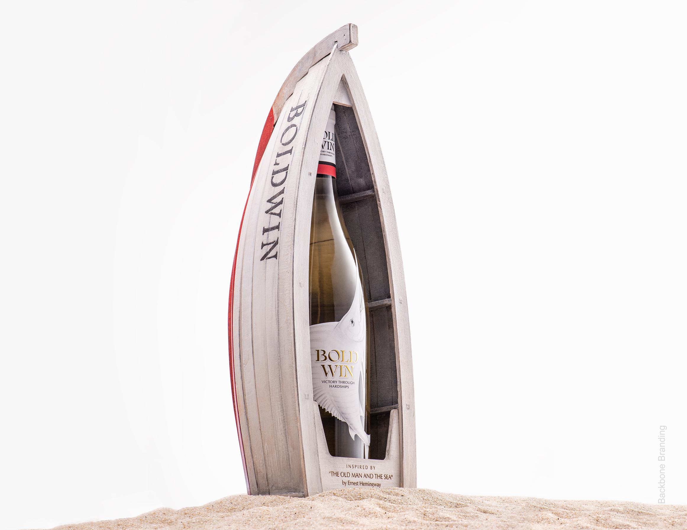 Backbone Branding's Self-Promotion Bold Win Wine Project