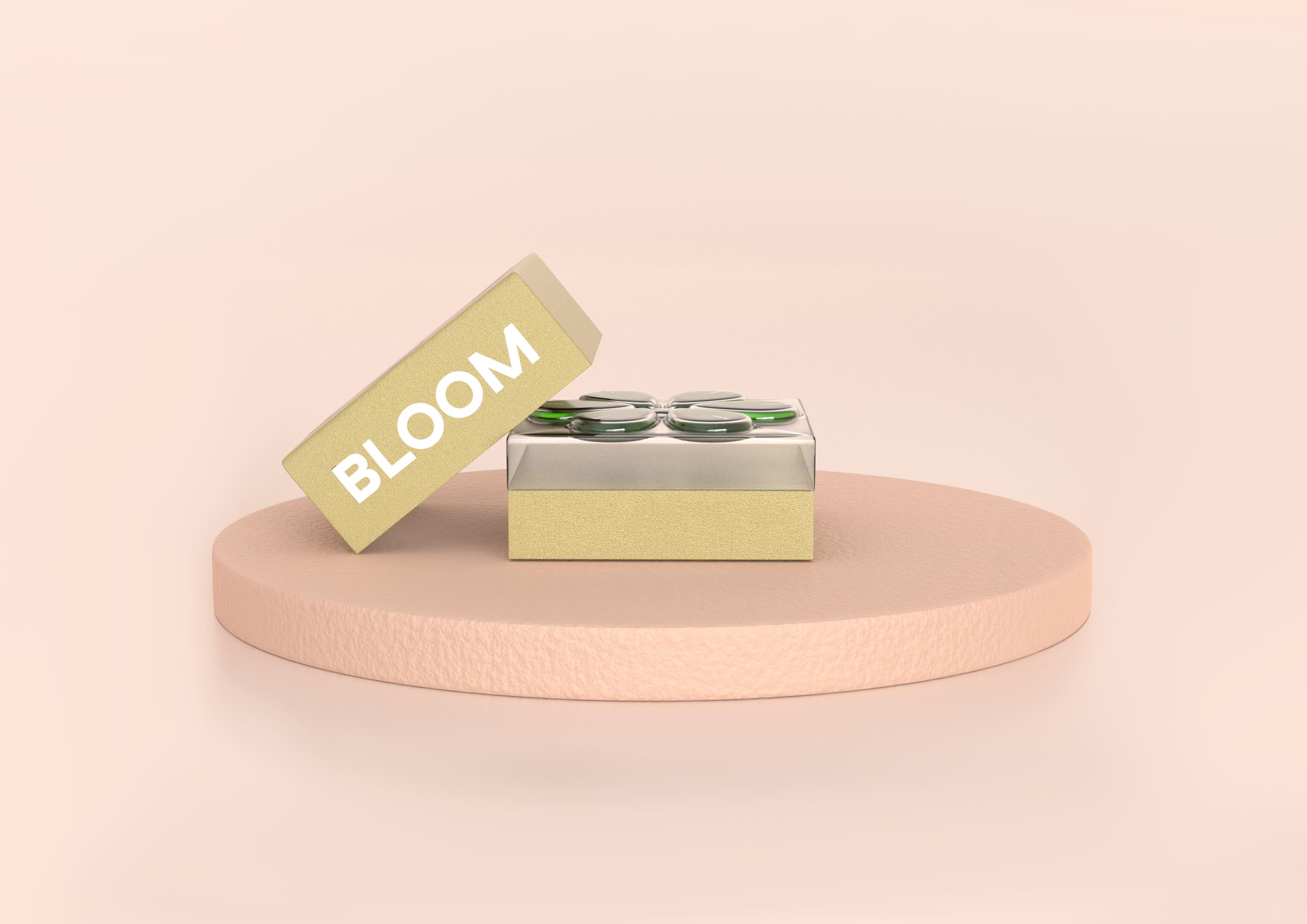 Student Product-Packaging Design Concept for Bloom Face Oil Moisturiser