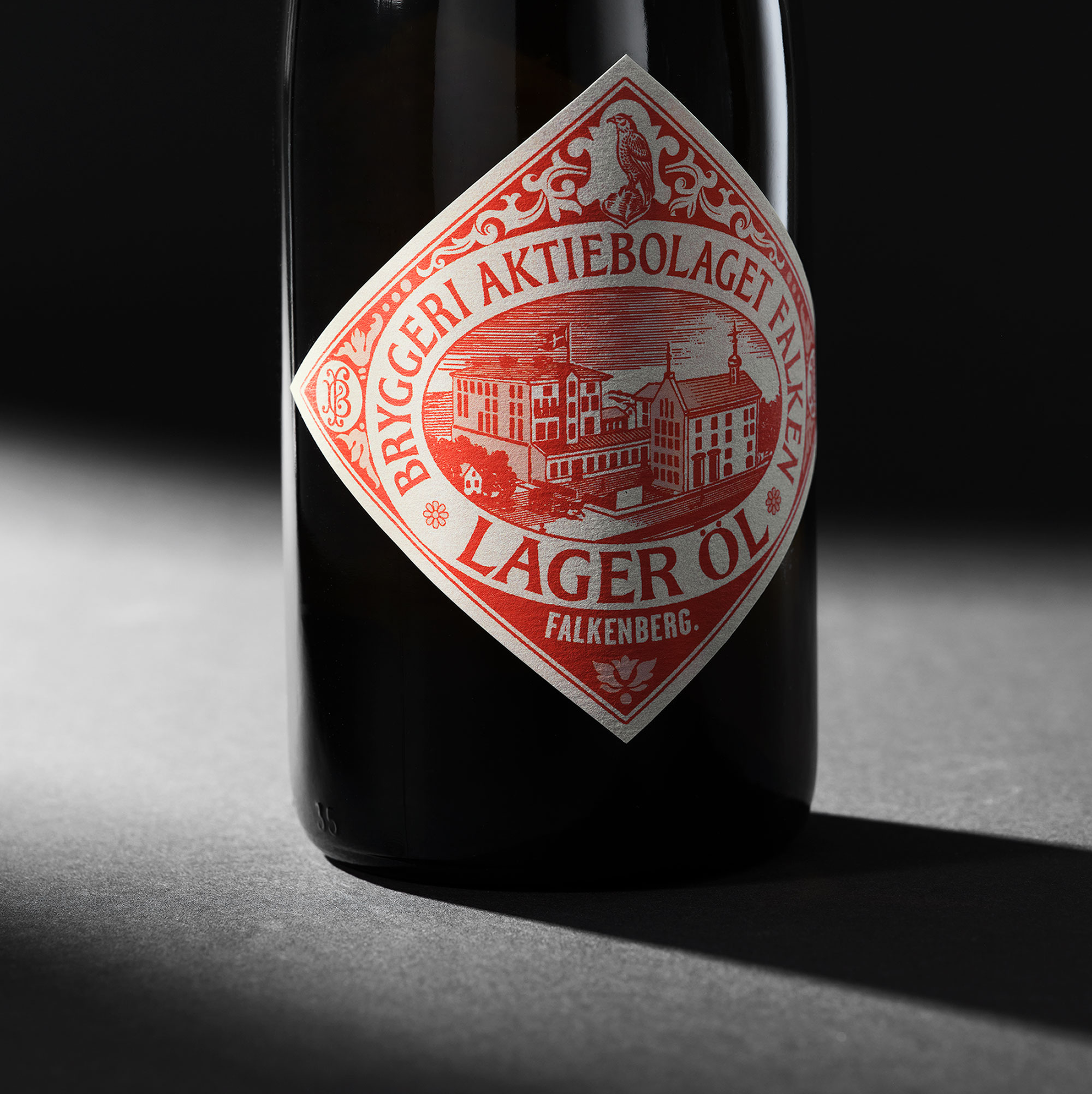 A Homage to Falcon's 125 Years of Brewing History and Dedication Designed by Everland