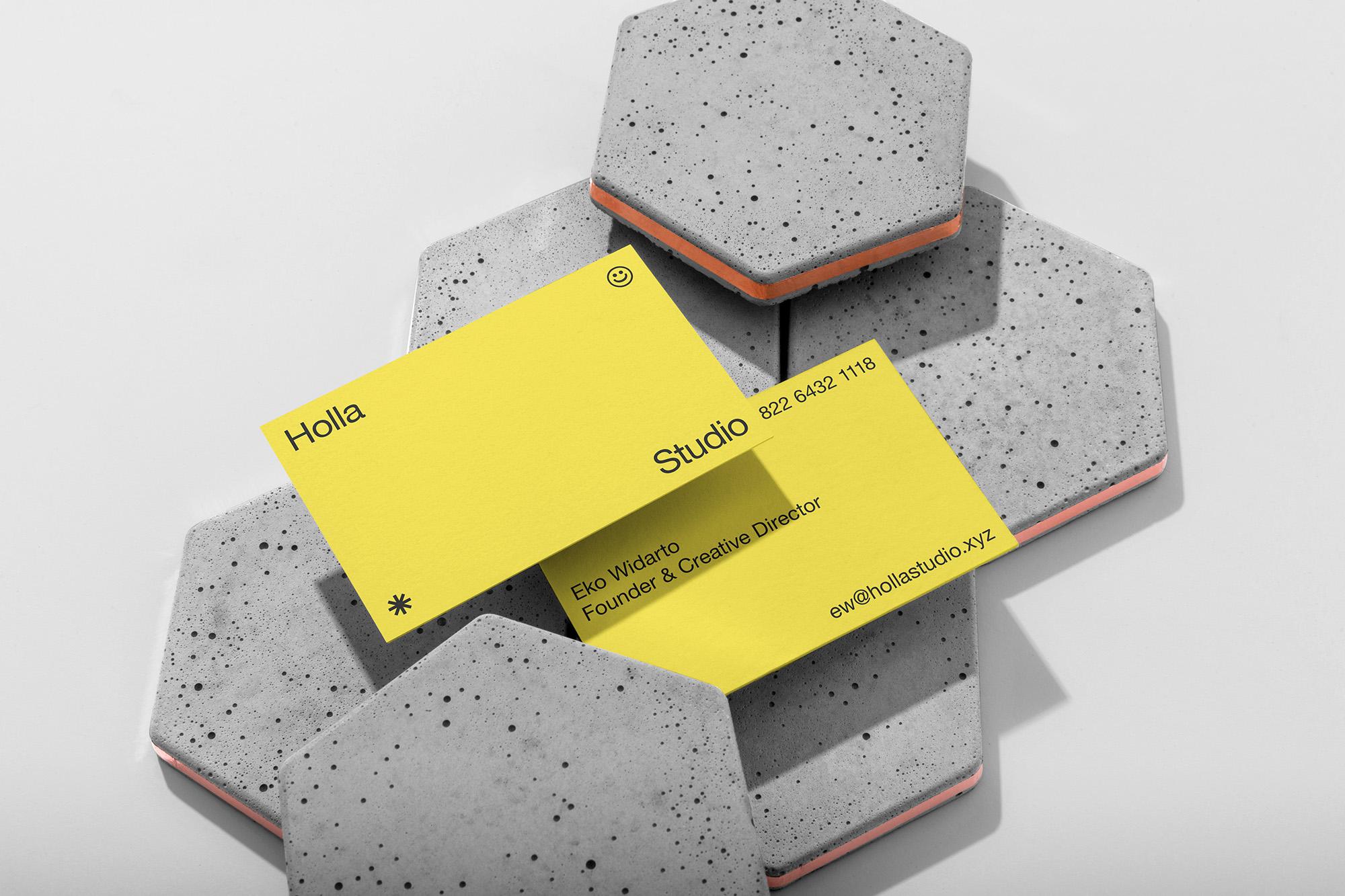 Holla Studio Identity Designed by Widarto Impact