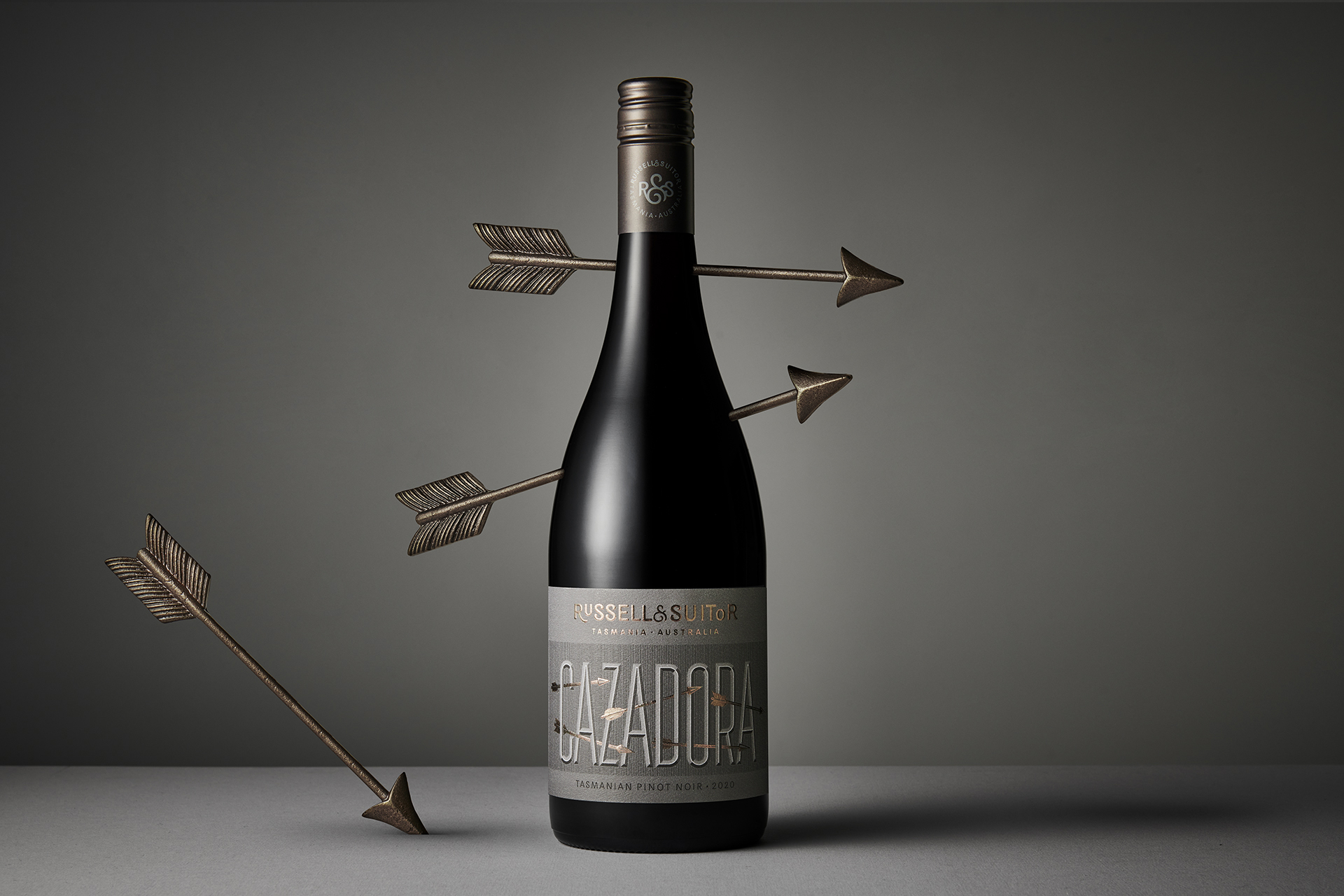 Packaging Design for Russell & Suitor Cazadora Wines by Harcus Design
