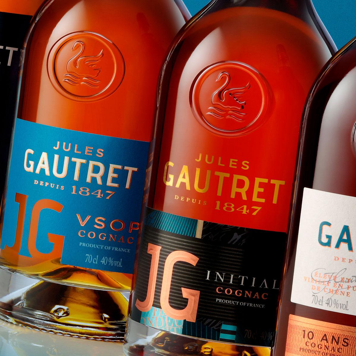 Maison Linea Relift Jules Gautret Cognac Range