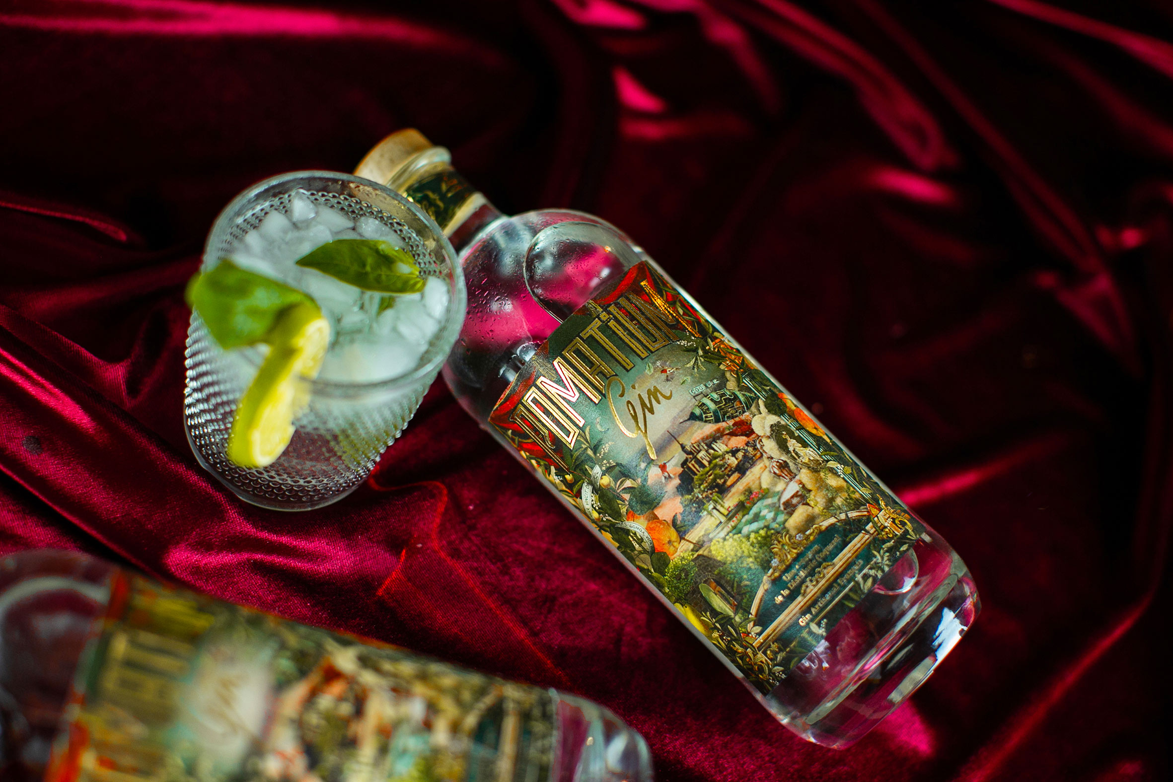 Studio Boam Label Design for Pomatium Gin, Calvados Distillery