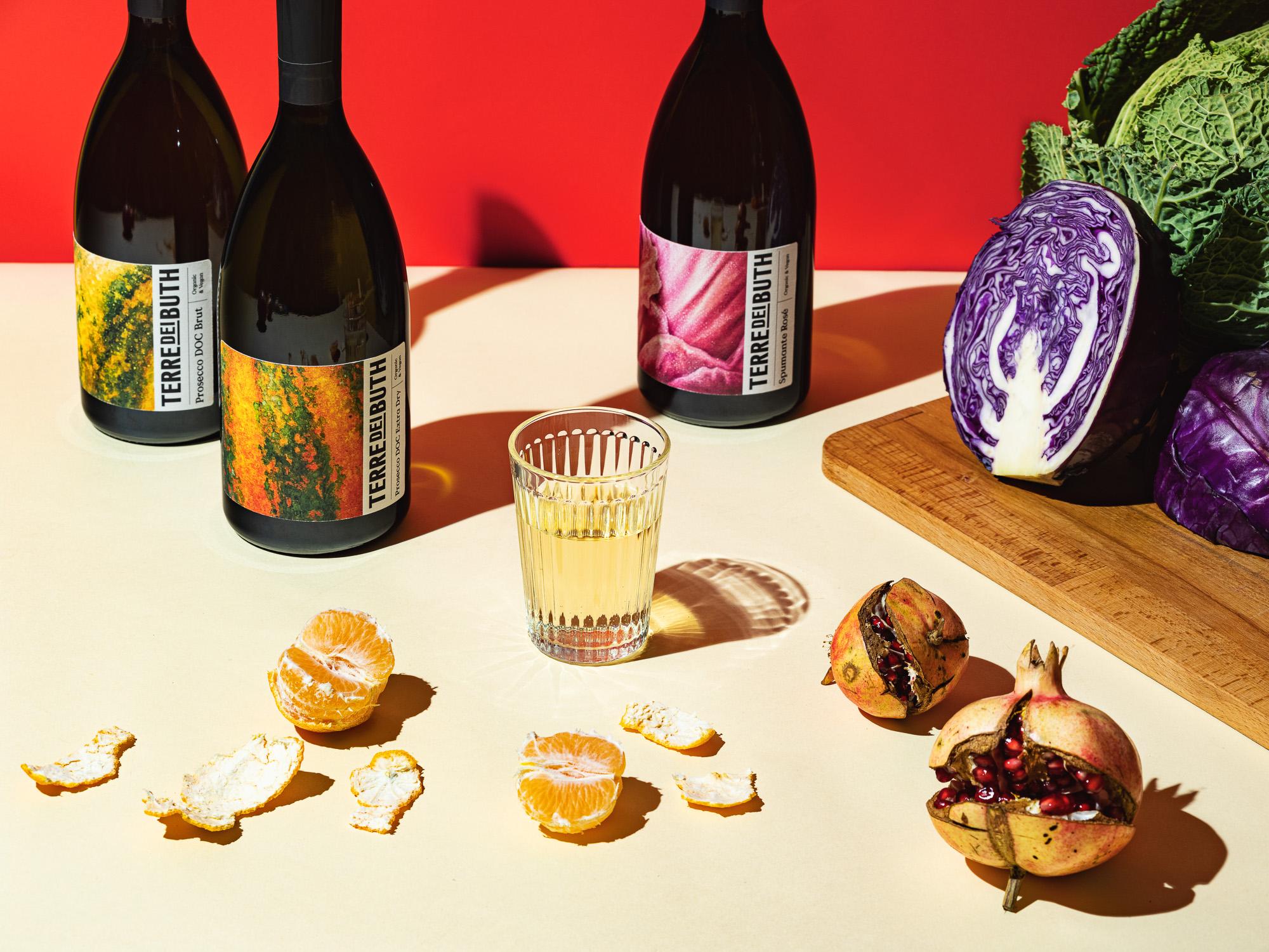 Terre dei Buth Wine Range Label Design by Gummy Industries