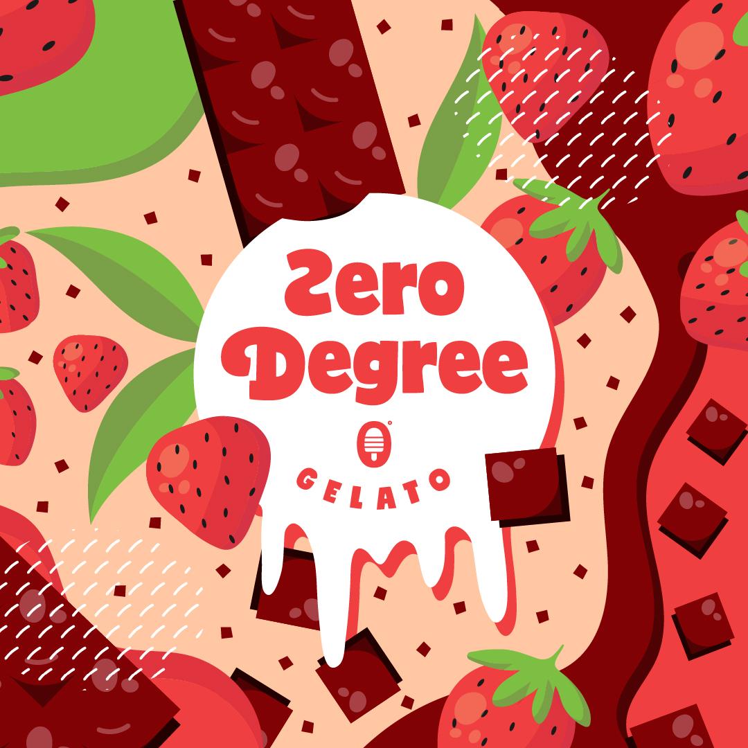 Zero Degree Gelato Packaging Design by Emir Kudic