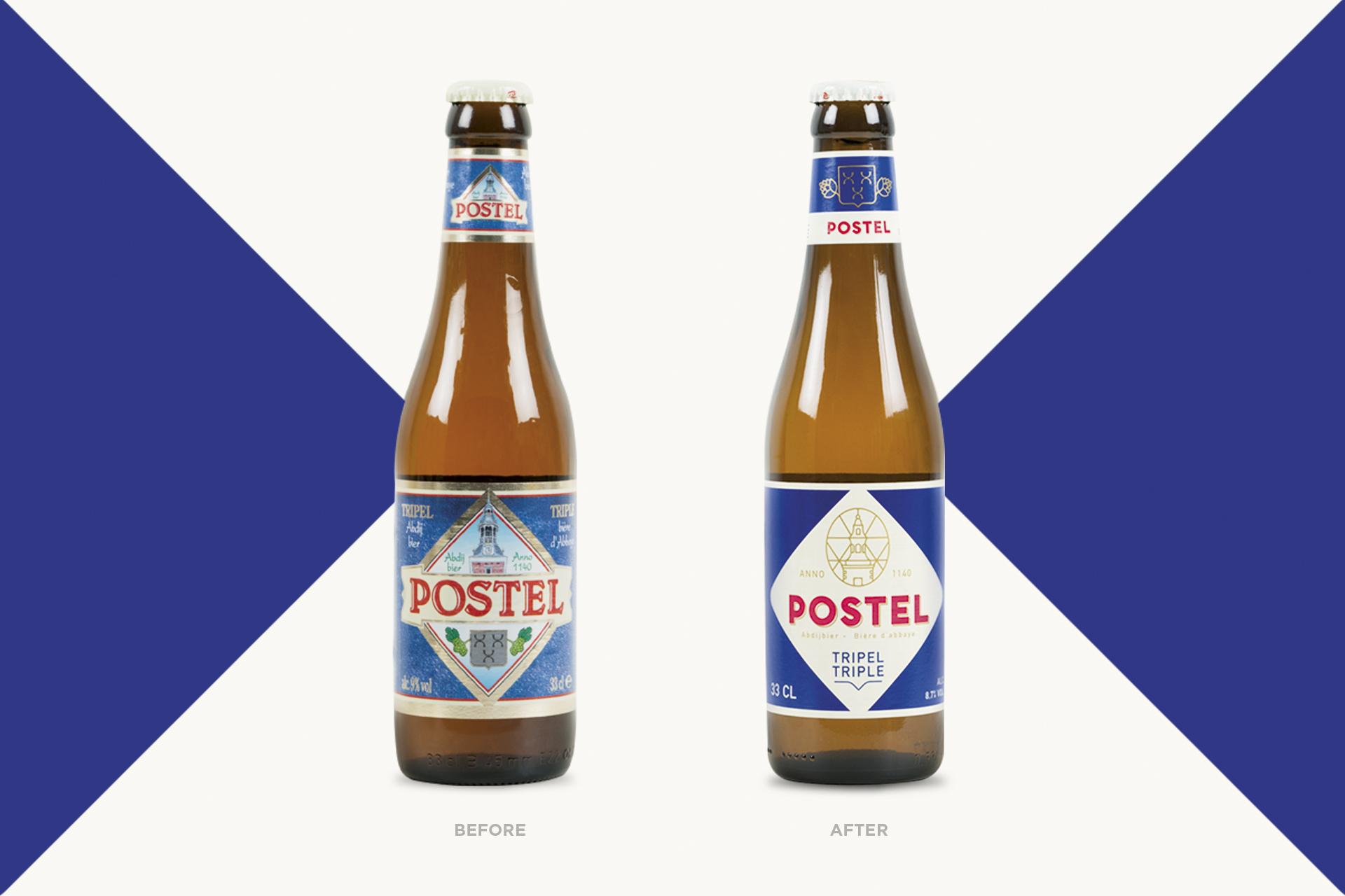 DesignRepublic Rejuvenates Postel Abbey Beer