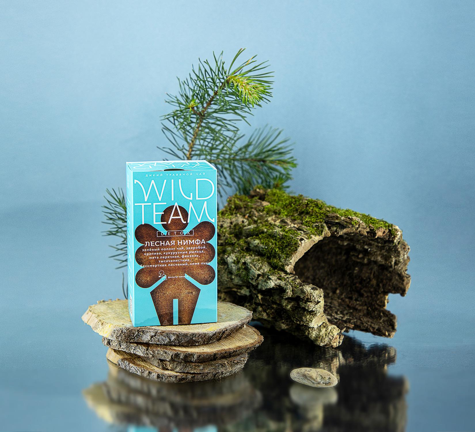 Rebranding the Wild Team Herbal Teas Designed by Ohmybrand