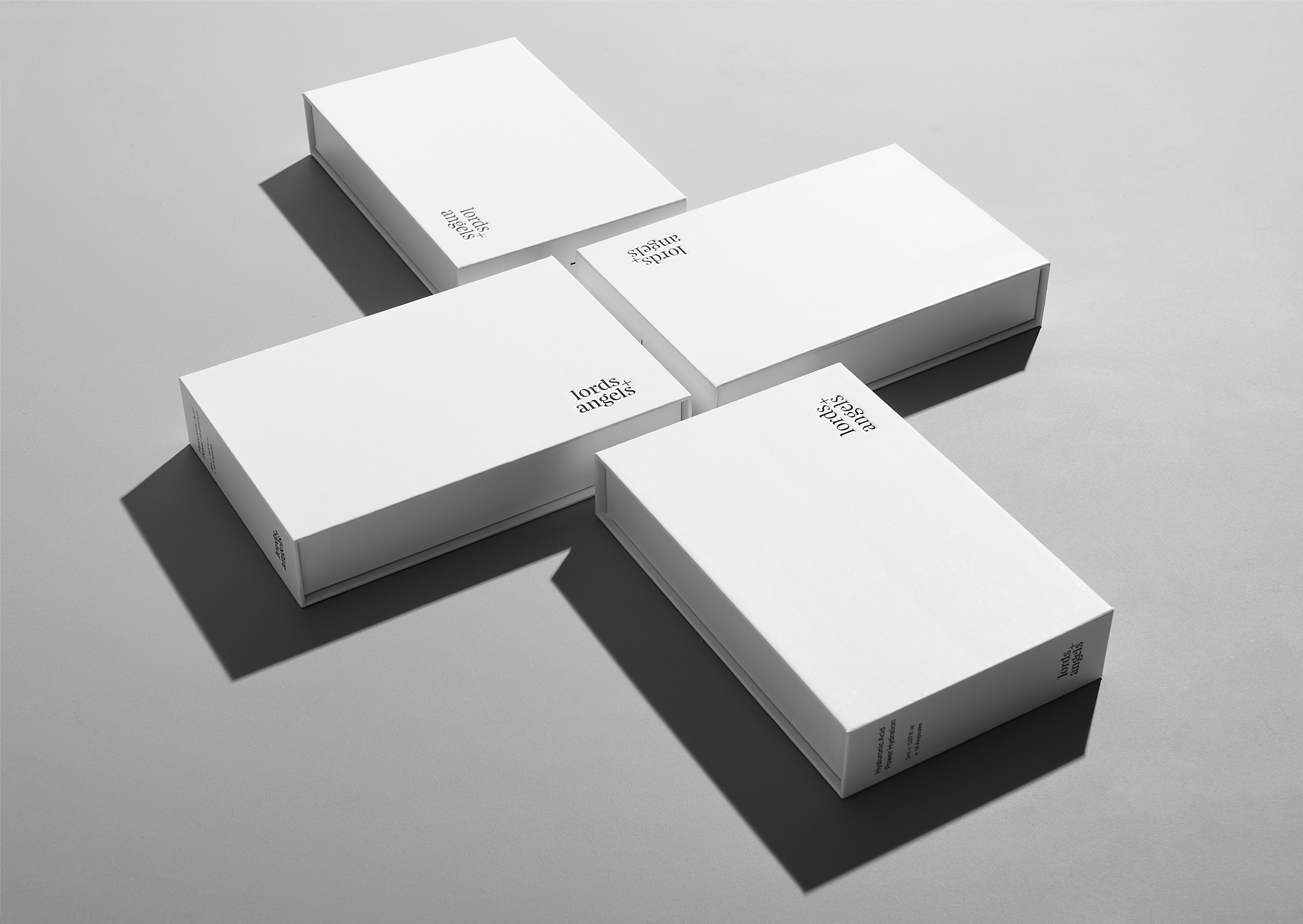 Lords + Angels Power Hydration Ampoules Brand and Packaging Design by Redfire