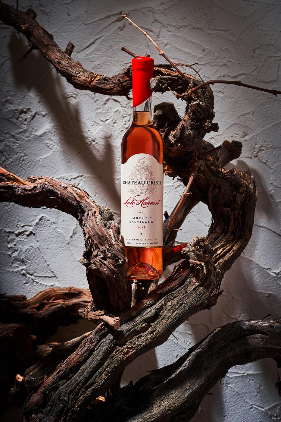 Chateau Cristi Late Harvest Wine Label Design by 43oz Design Studio