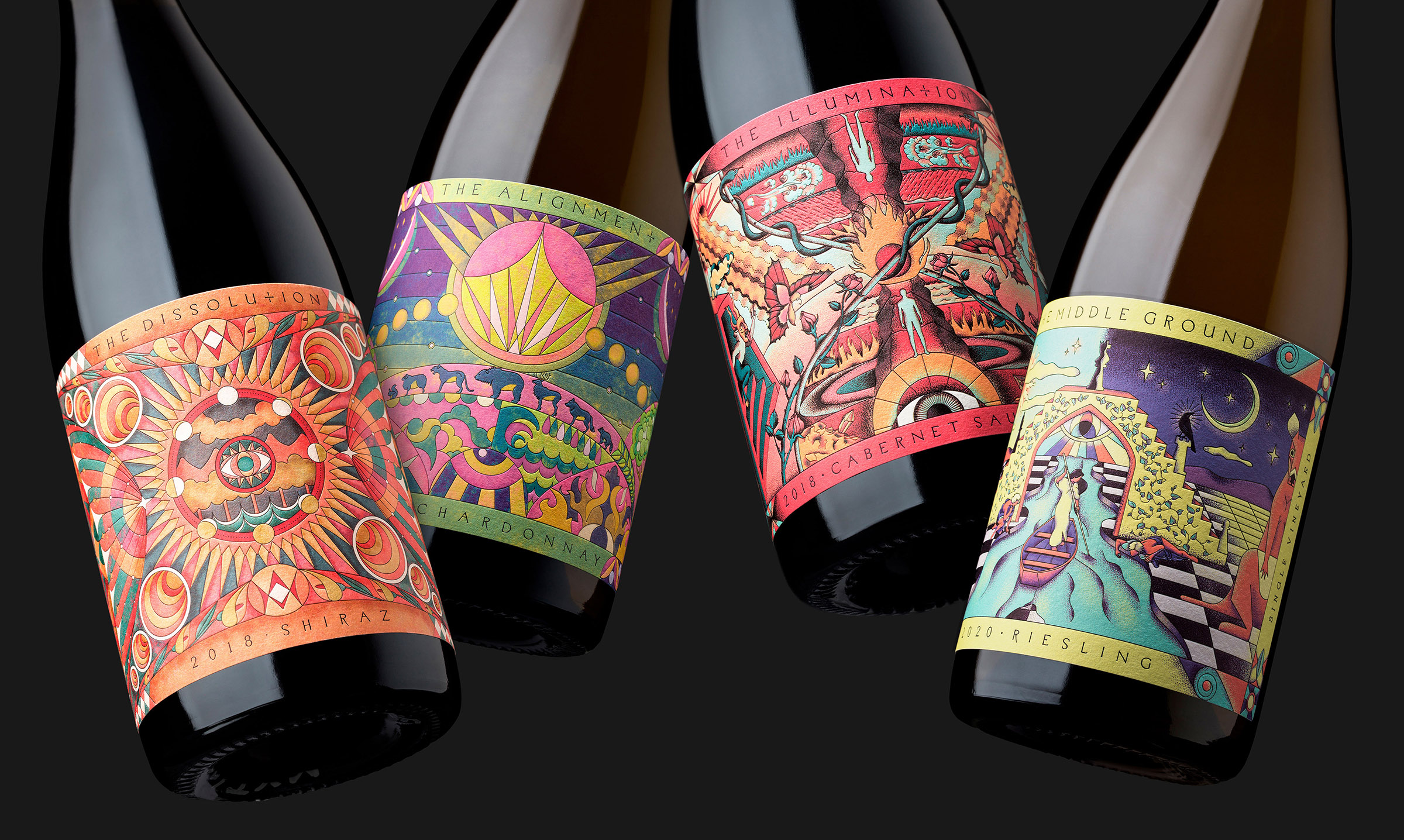 Estudi JJ Create Oentologie Wine Labels