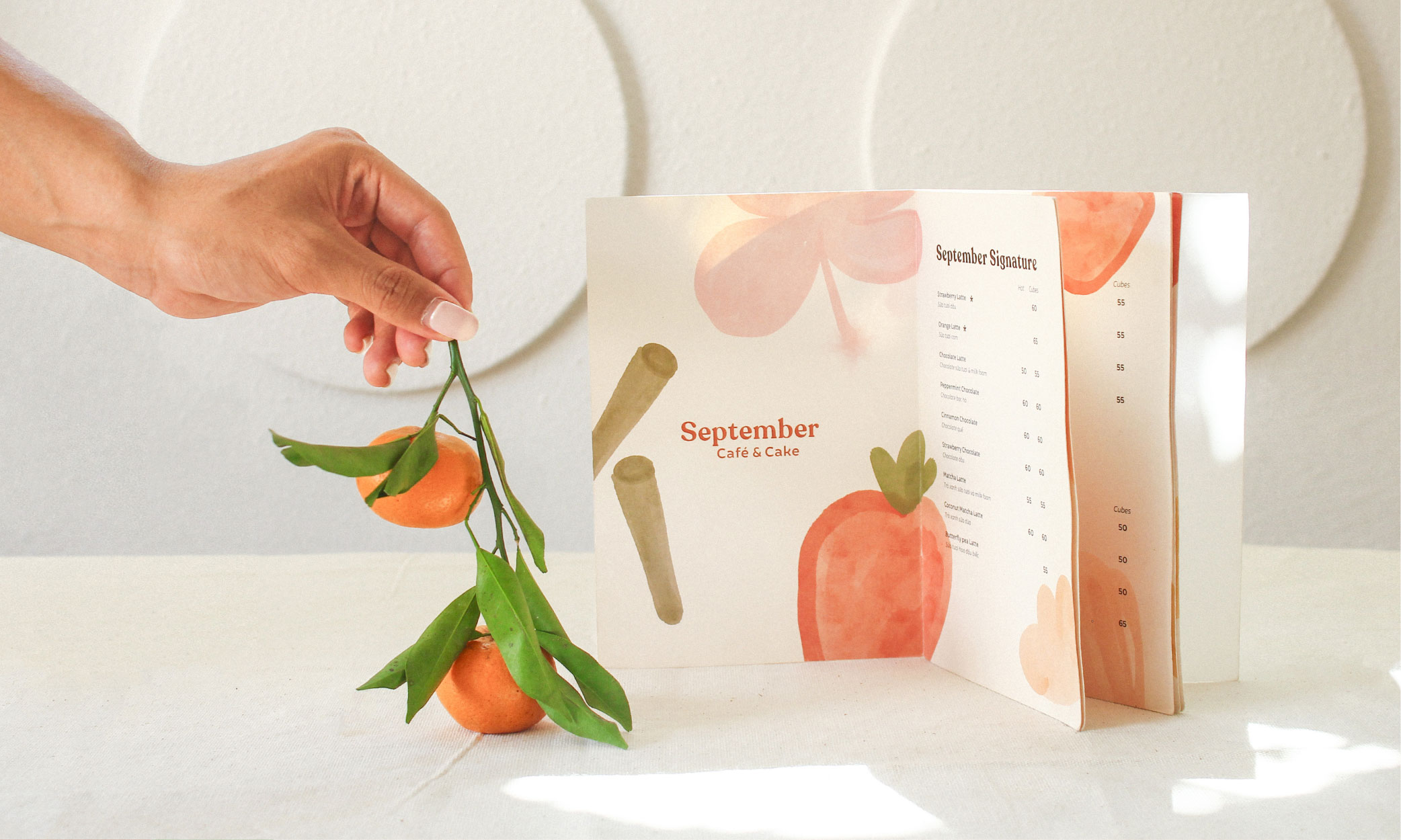 Chochoi Creative Craft Branding and Packaging Design for September Café & Cake Project
