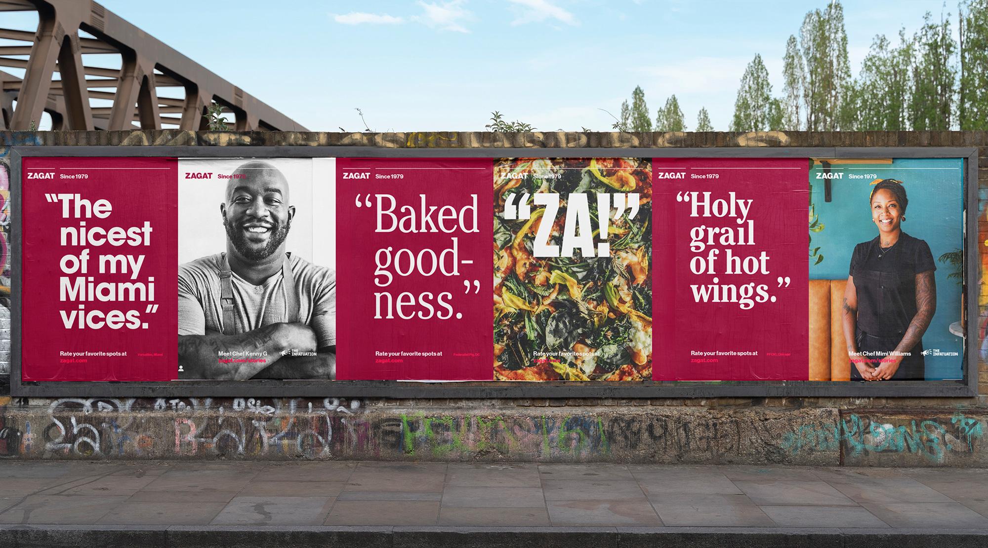 Zagat Restaurant Rebrand Created by Franklyn