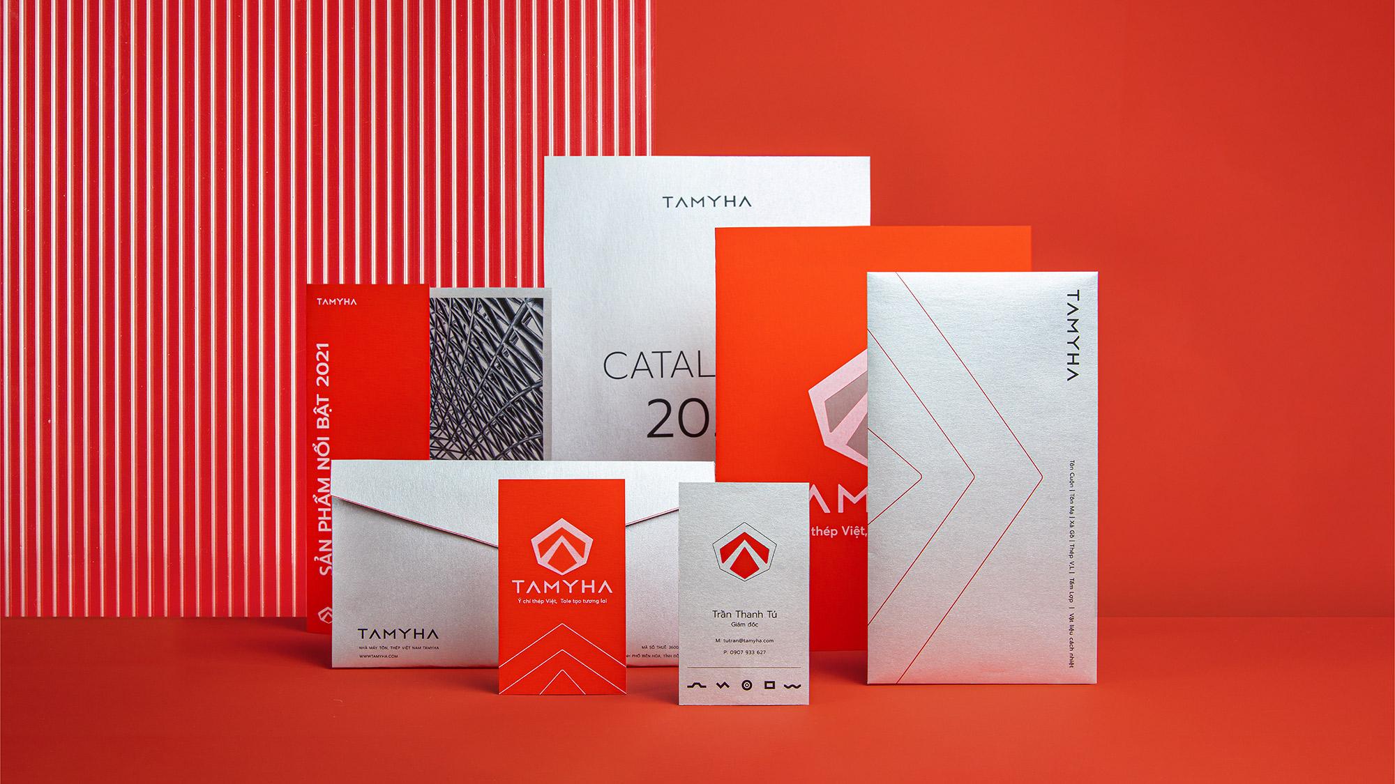 Vũ Digital Create Rebranding for Tamyha a Steel Sheet Manufacturer