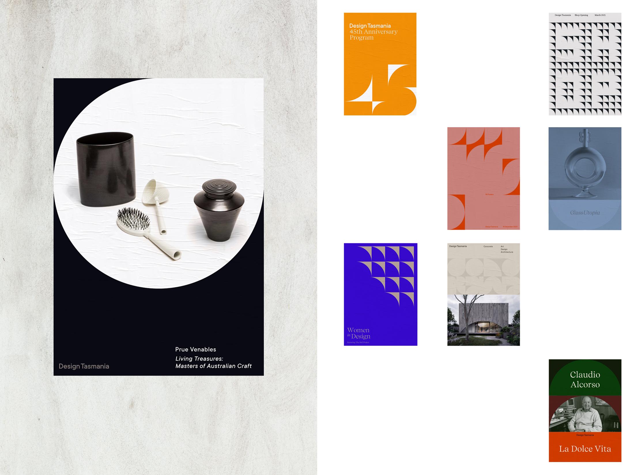 Design Tasmania Rebrand Designed by Megan Perkins