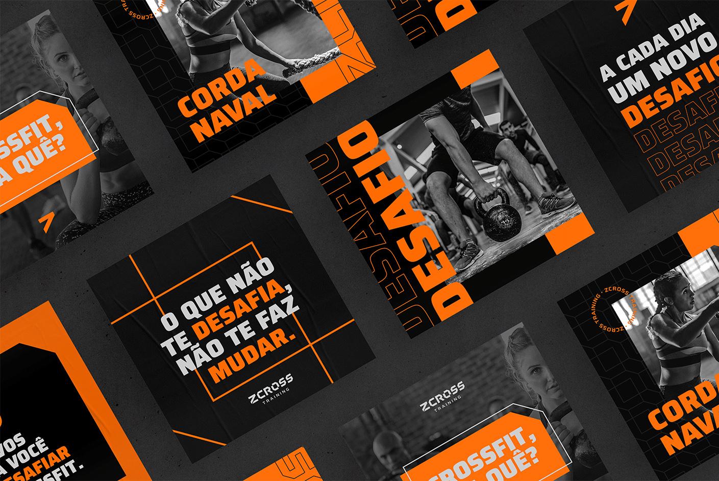 Identity Visual for ZCross Training Designed by Igor Camargo Design