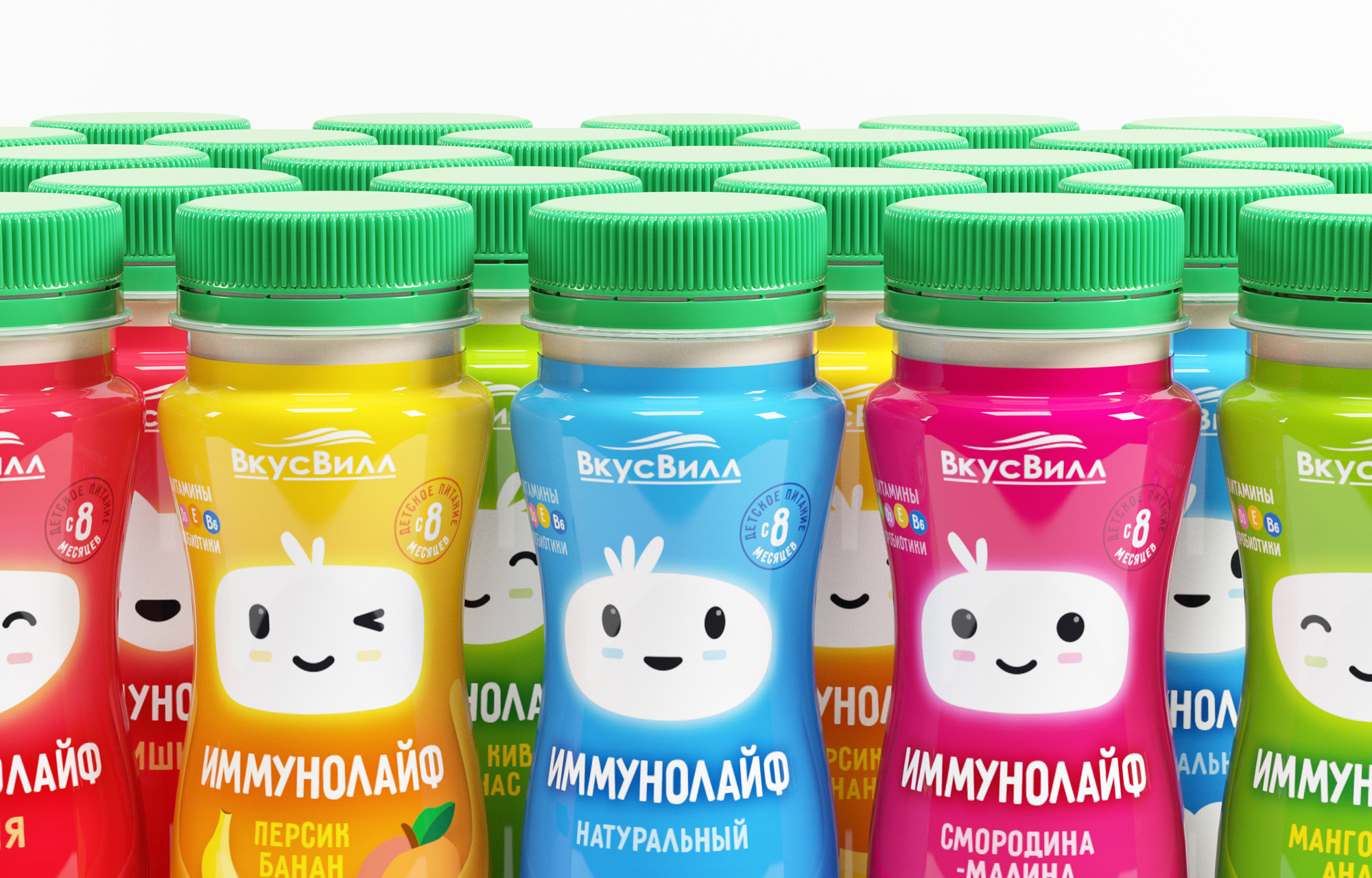 Ohmybrand Develop Packaging and Character Design for Immunolife